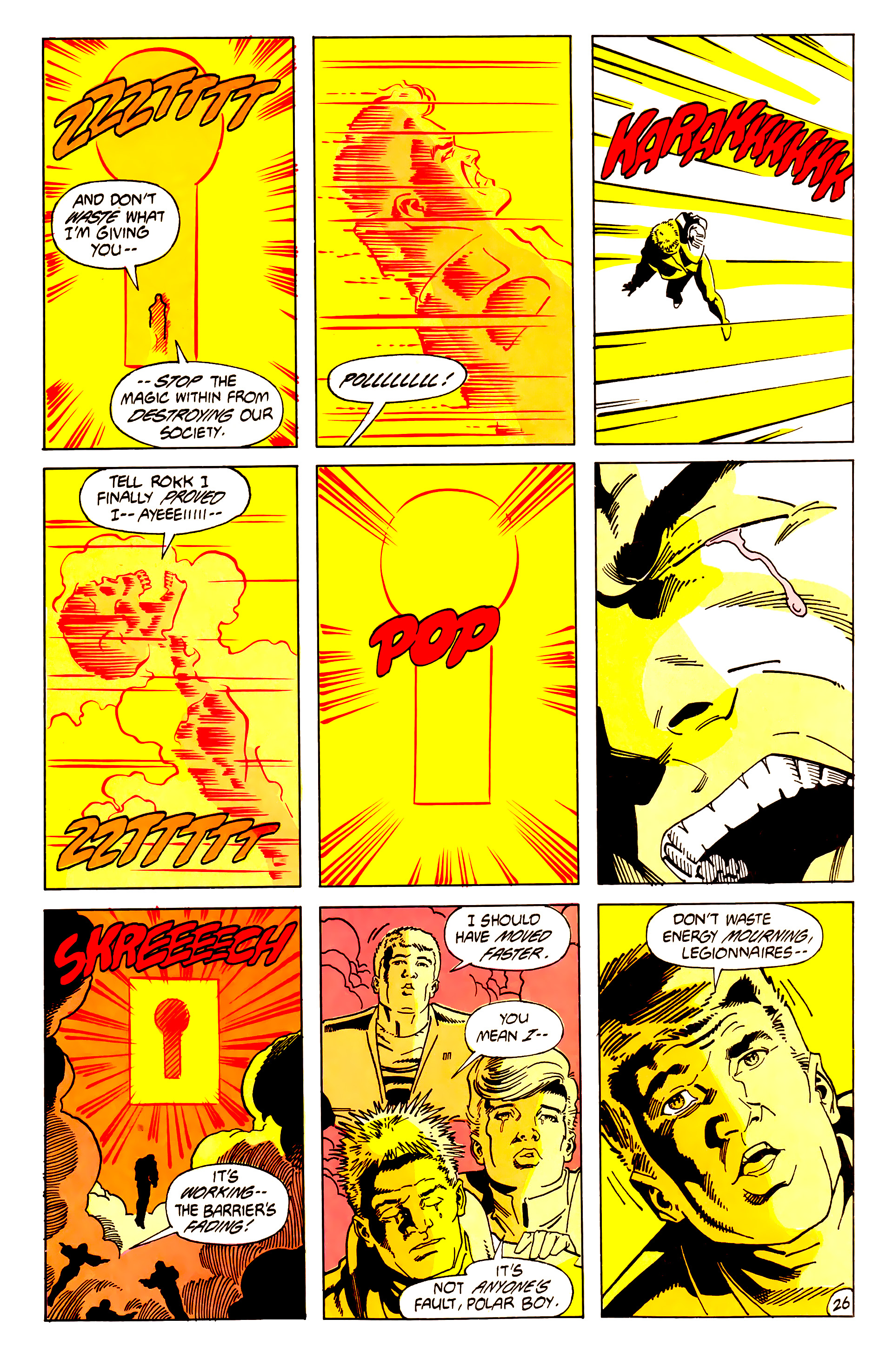 Legion of Super-Heroes (1984) 62 Page 26