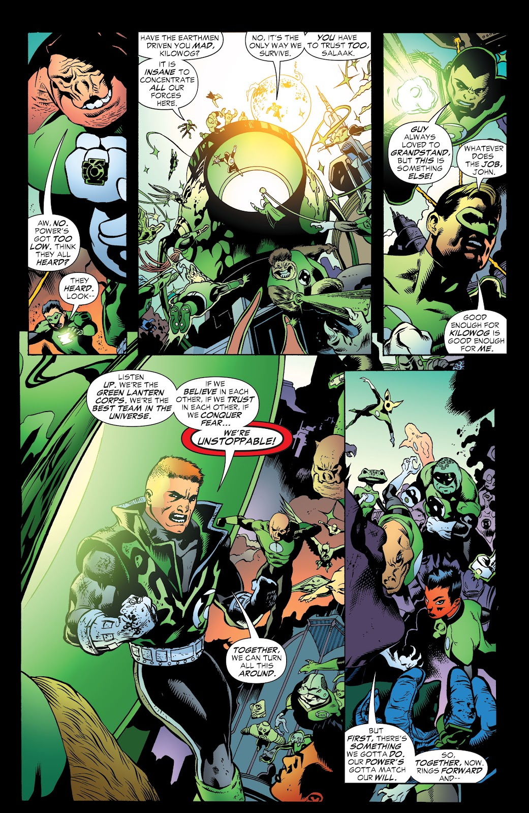Read online Green Lantern by Geoff Johns comic -  Issue # TPB 1 (Part 3) - 80