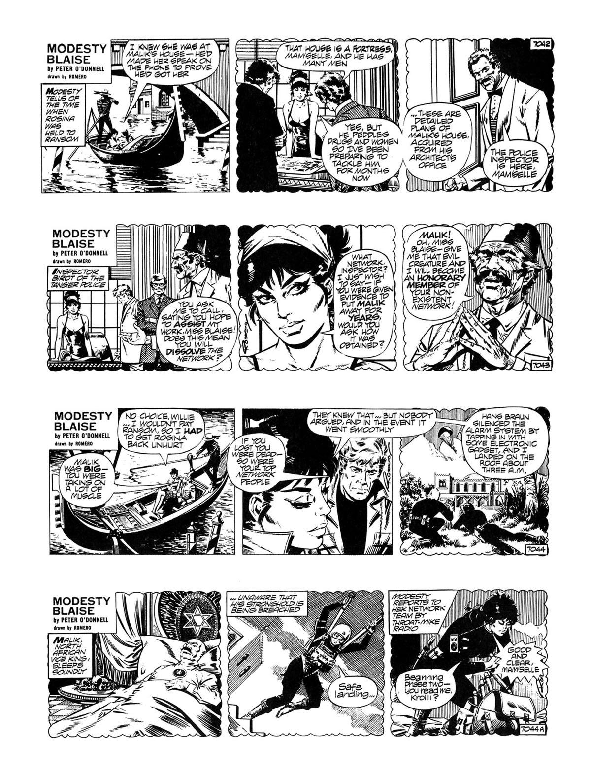 Read online Modesty Blaise Live bait comic -  Issue # TPB - 4
