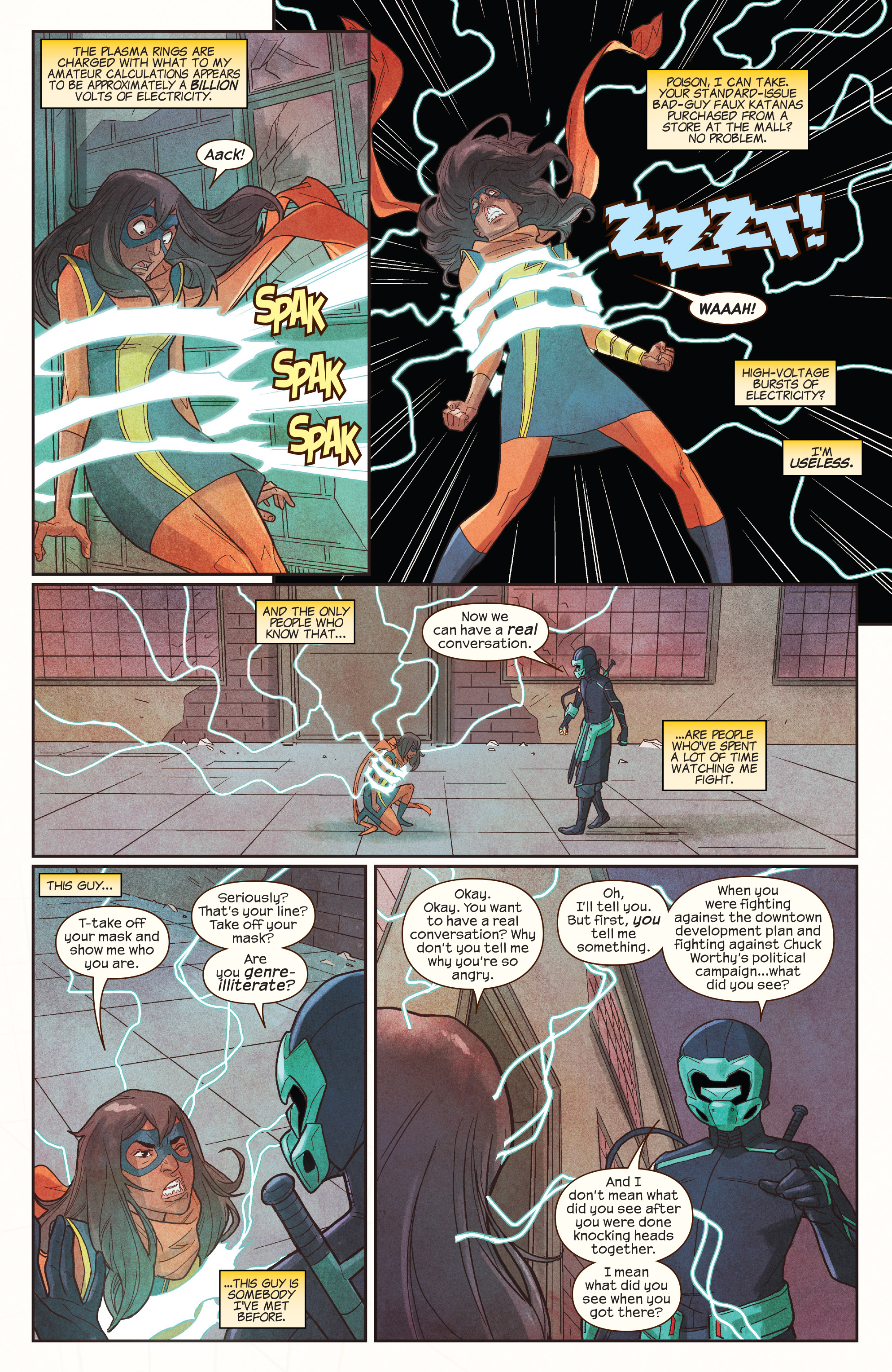 Read online Ms. Marvel (2016) comic -  Issue #19 - 18