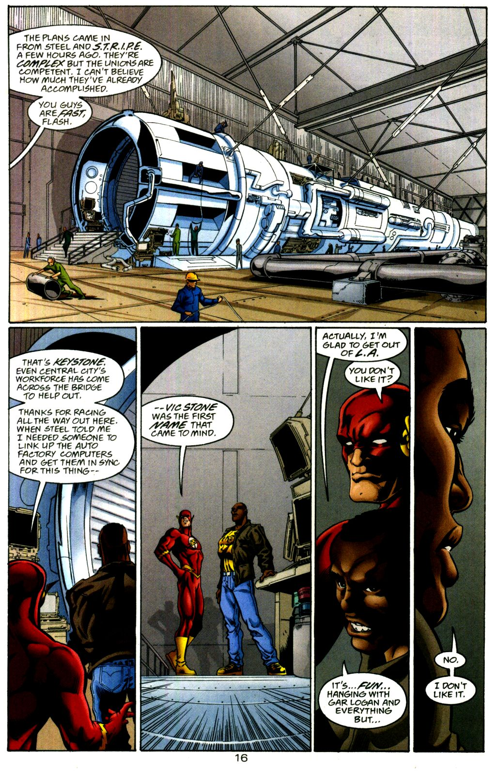 Read online The Flash: Our Worlds at War comic -  Issue # Full - 16
