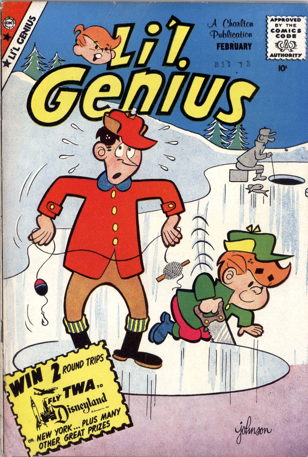 Lil Genius 25 Page 1