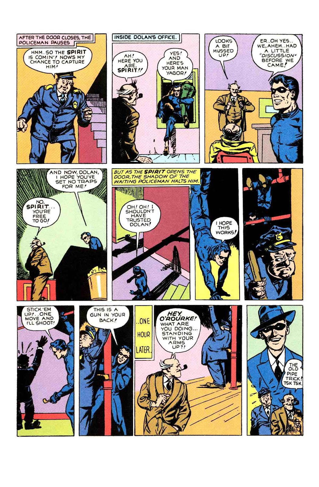 Read online Will Eisner's The Spirit Archives comic -  Issue # TPB 1 (Part 1) - 71