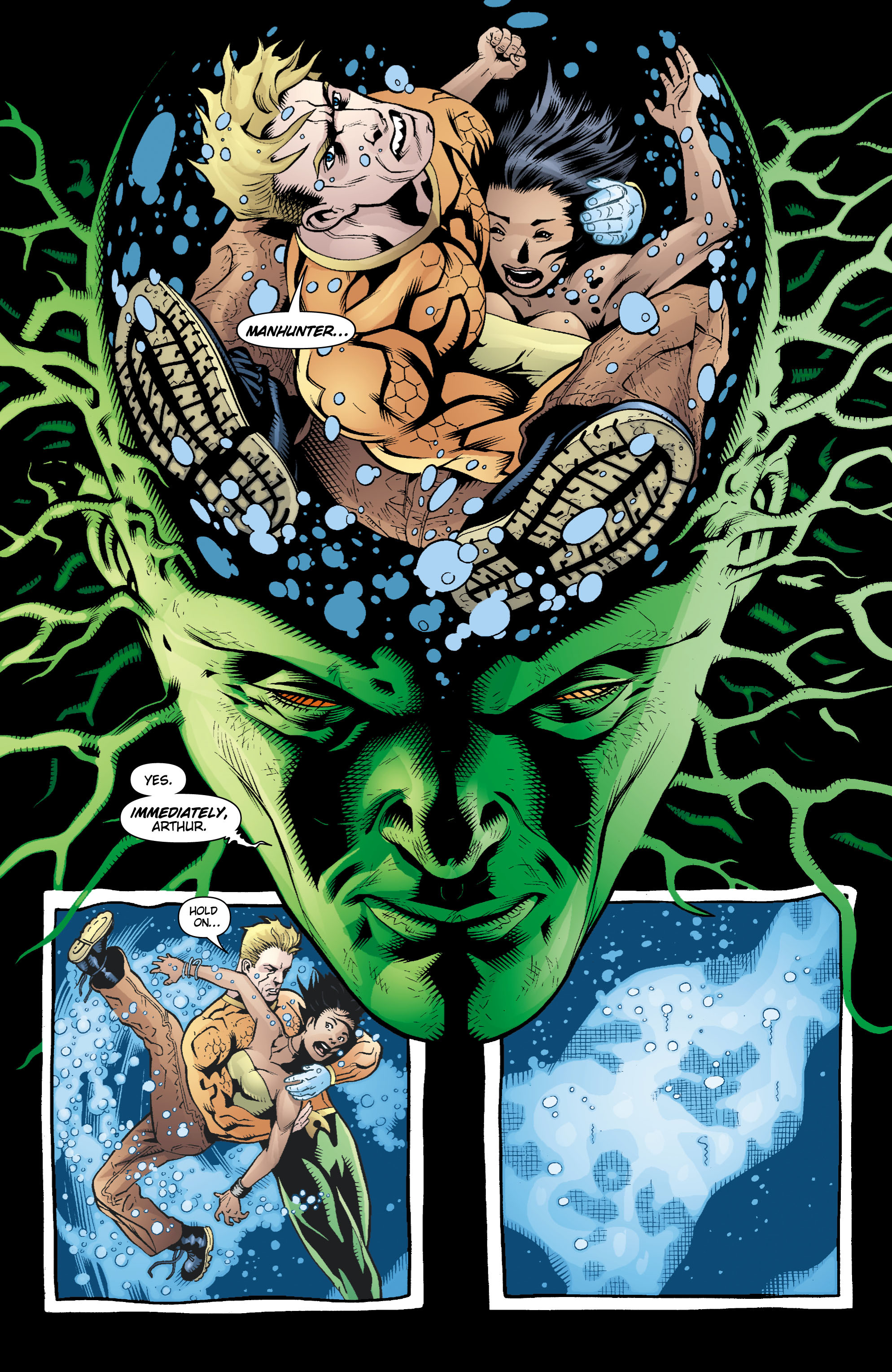Read online Aquaman (2003) comic -  Issue #16 - 8