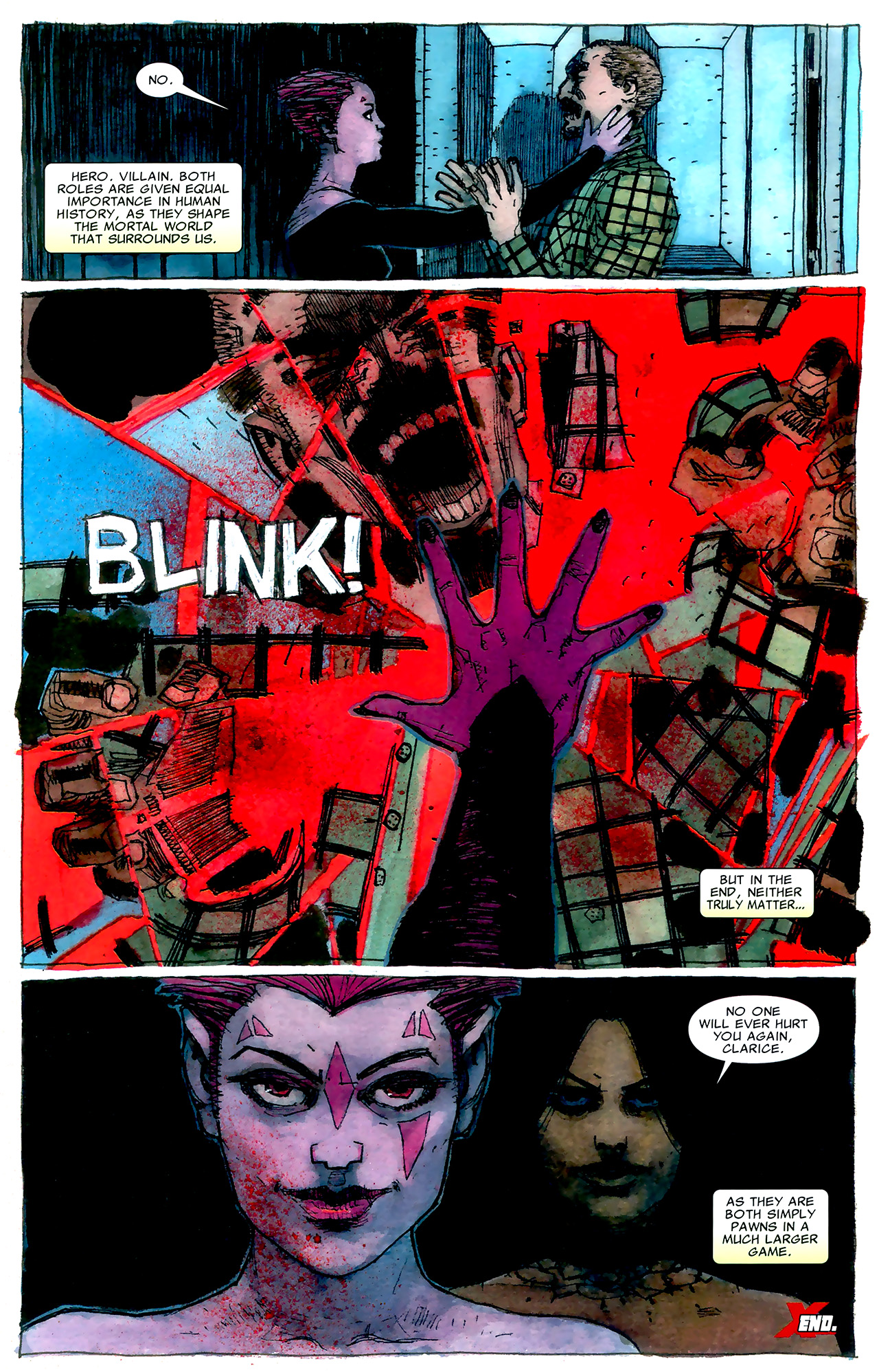 Read online X Necrosha: The Gathering comic -  Issue # Full - 19