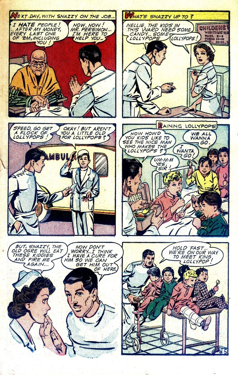 Read online Nellie The Nurse (1945) comic -  Issue #2 - 31