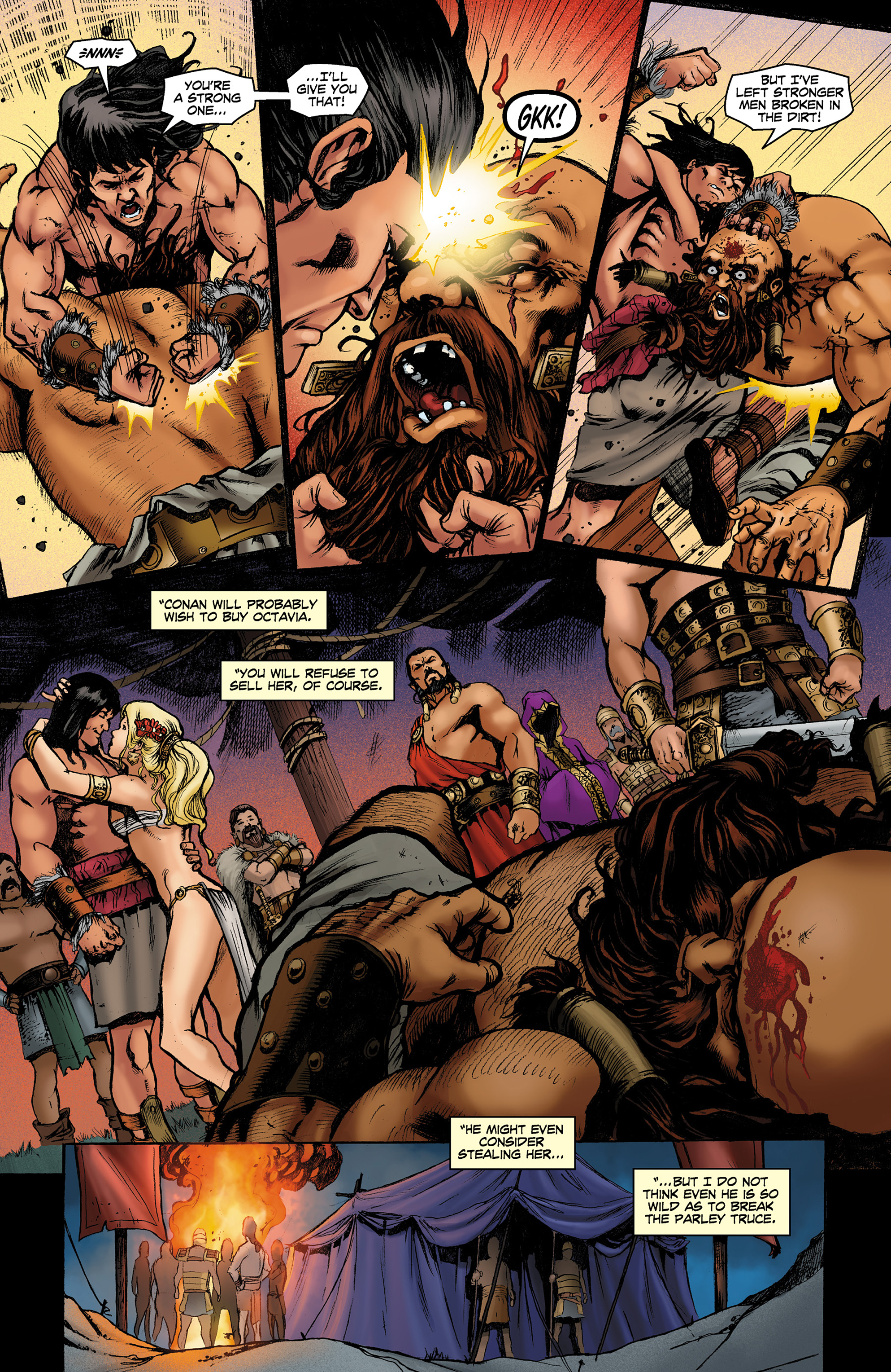Read online Conan The Slayer comic -  Issue #8 - 15