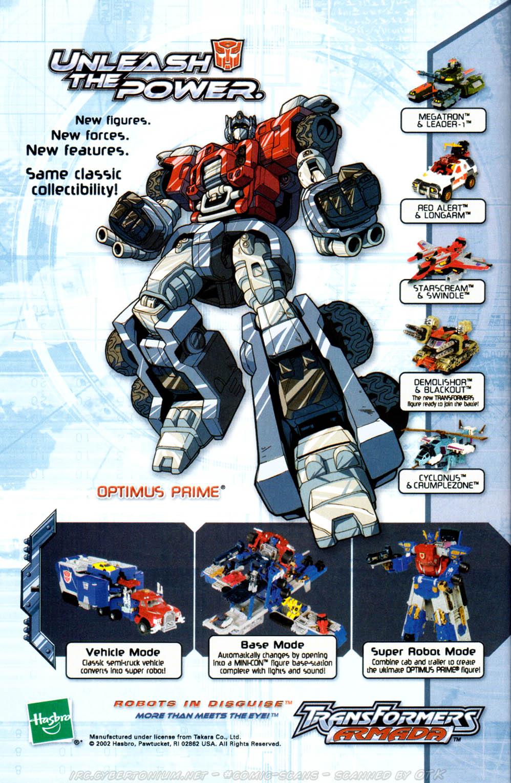 Read online Transformers Armada comic -  Issue #1 - 28