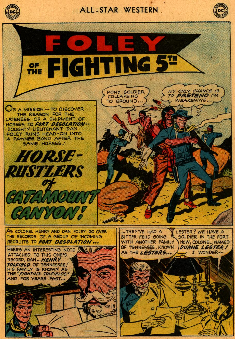 Read online All-Star Western (1951) comic -  Issue #102 - 15