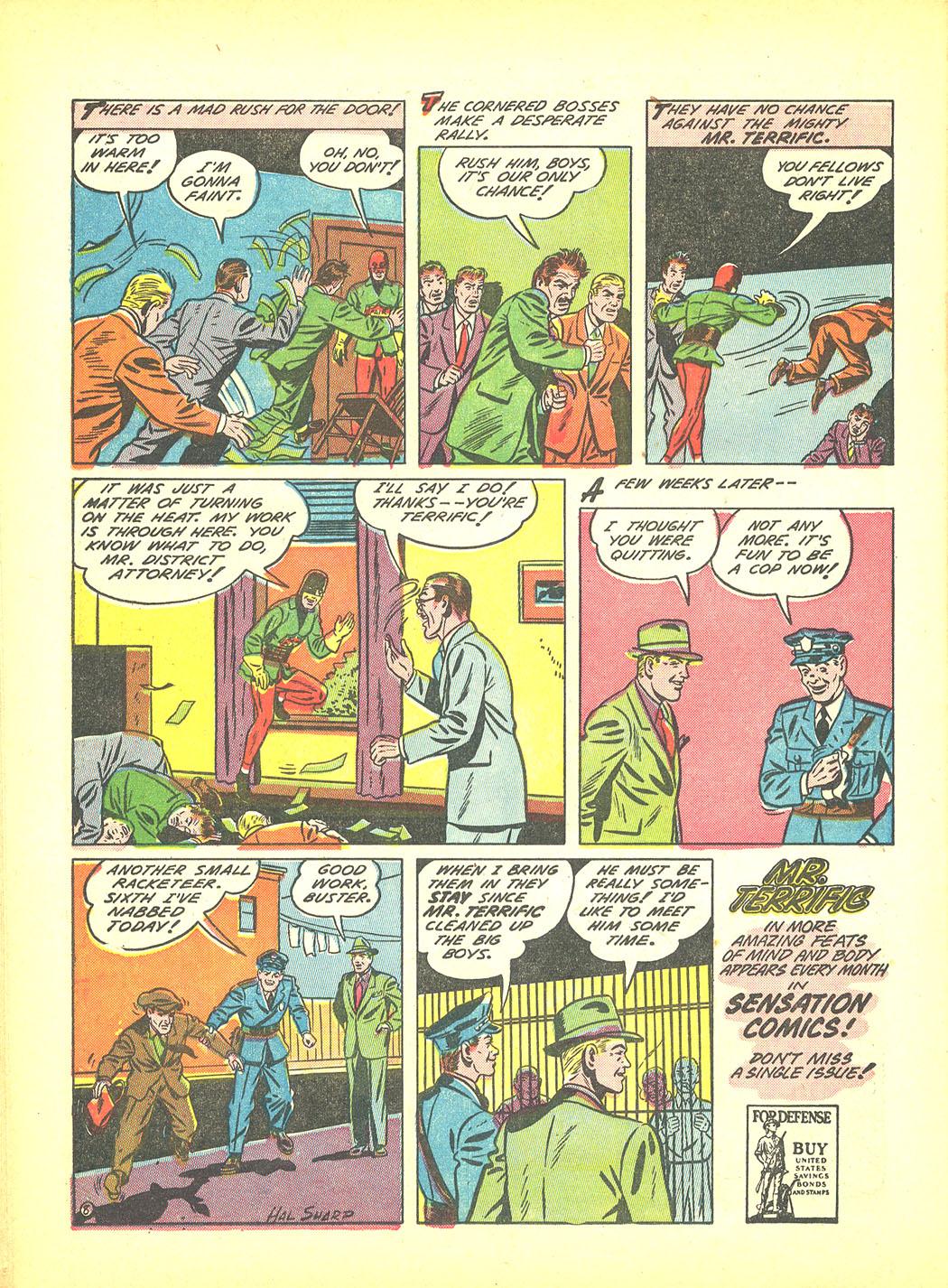 Read online Sensation (Mystery) Comics comic -  Issue #4 - 32