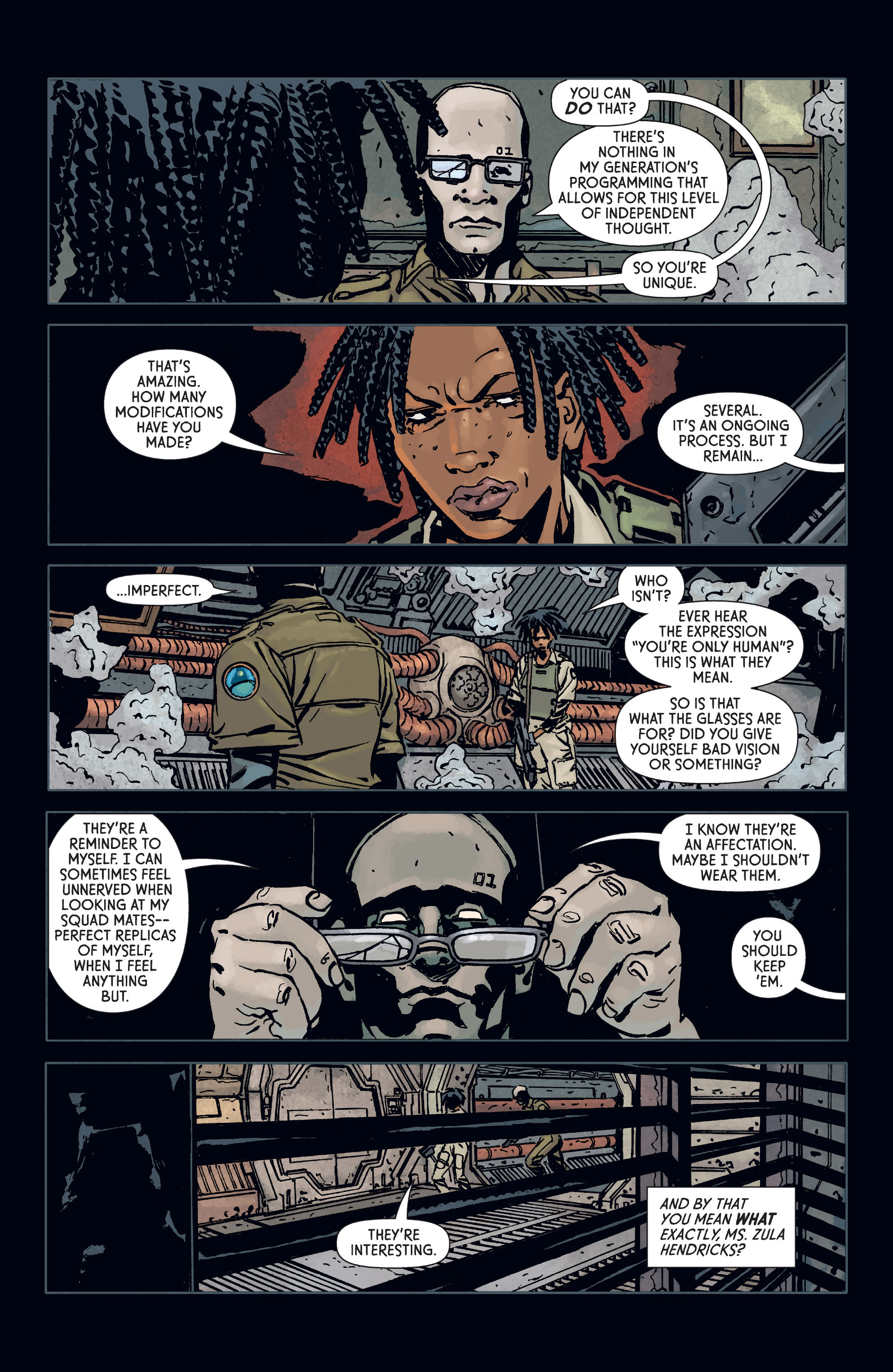 Read online Aliens: Defiance comic -  Issue #3 - 15