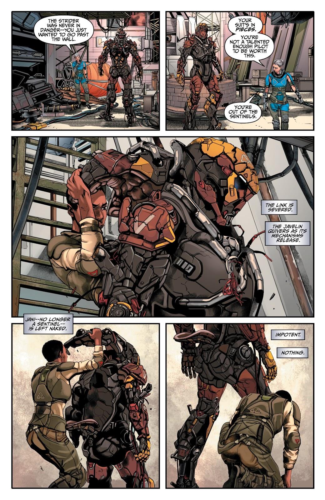 Read online Anthem comic -  Issue #2 - 5