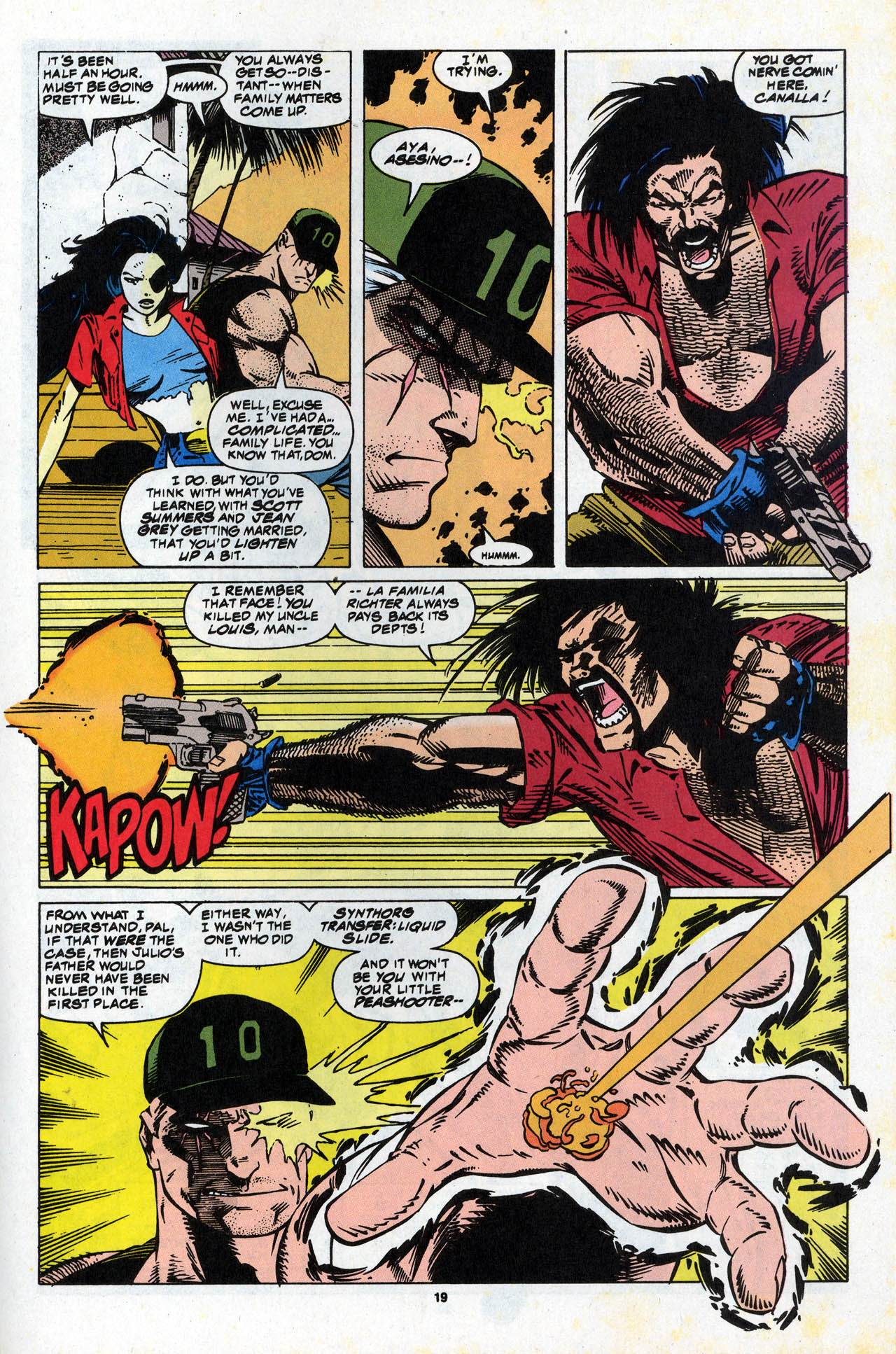 Read online X-Force (1991) comic -  Issue #34 - 20