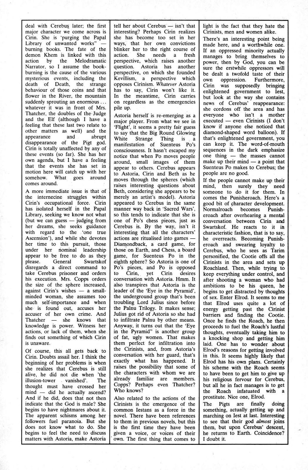 Cerebus Issue #165 #164 - English 25