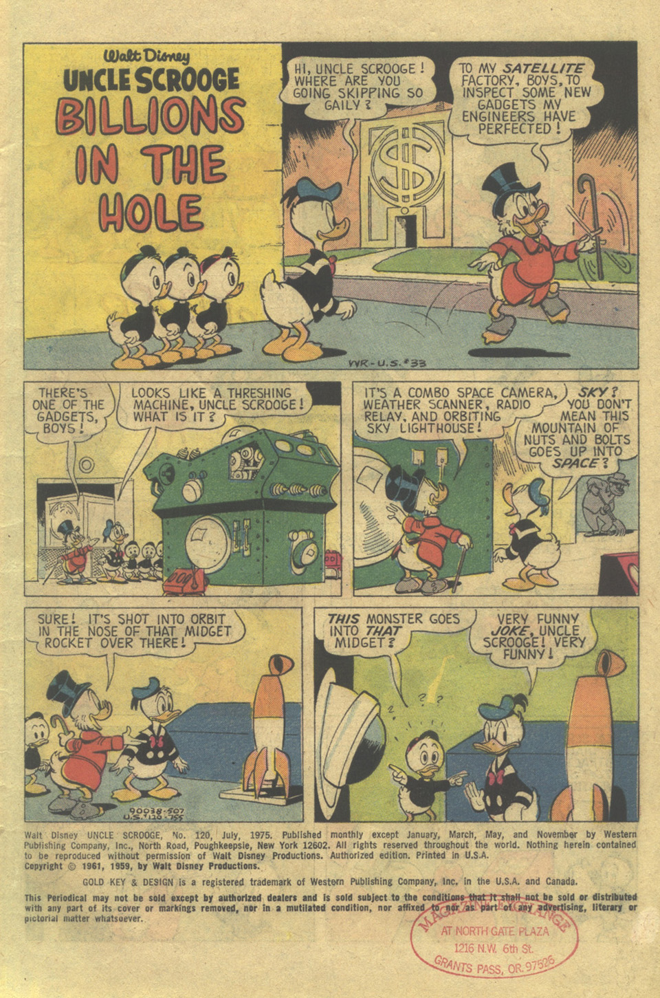 Read online Uncle Scrooge (1953) comic -  Issue #120 - 3