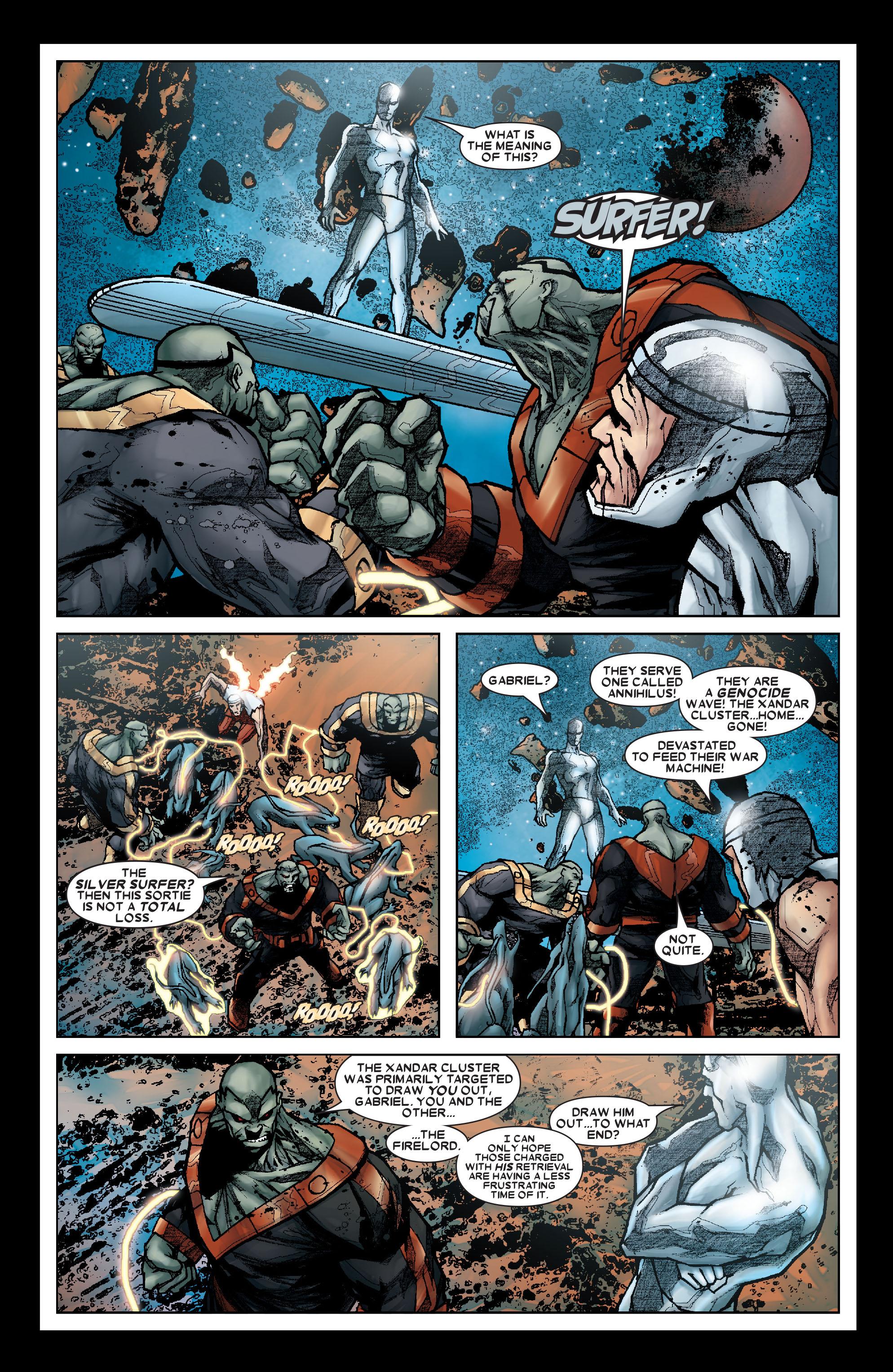 Read online Annihilation: Silver Surfer comic -  Issue #1 - 8