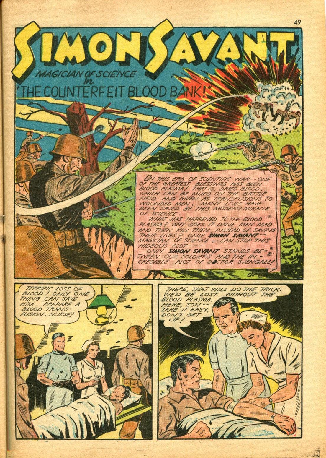 Read online Super-Magician Comics comic -  Issue #15 - 48