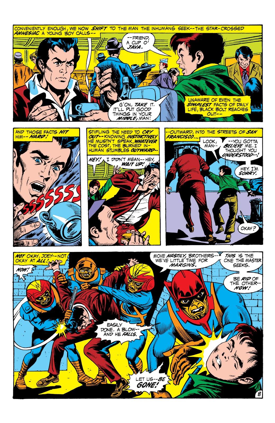 Read online Marvel Masterworks: The Inhumans comic -  Issue # TPB 1 (Part 2) - 65