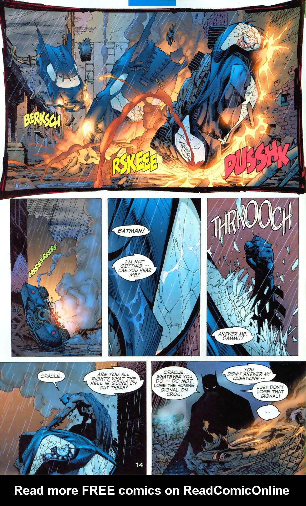 Read online Batman: Hush comic -  Issue #3 - 14
