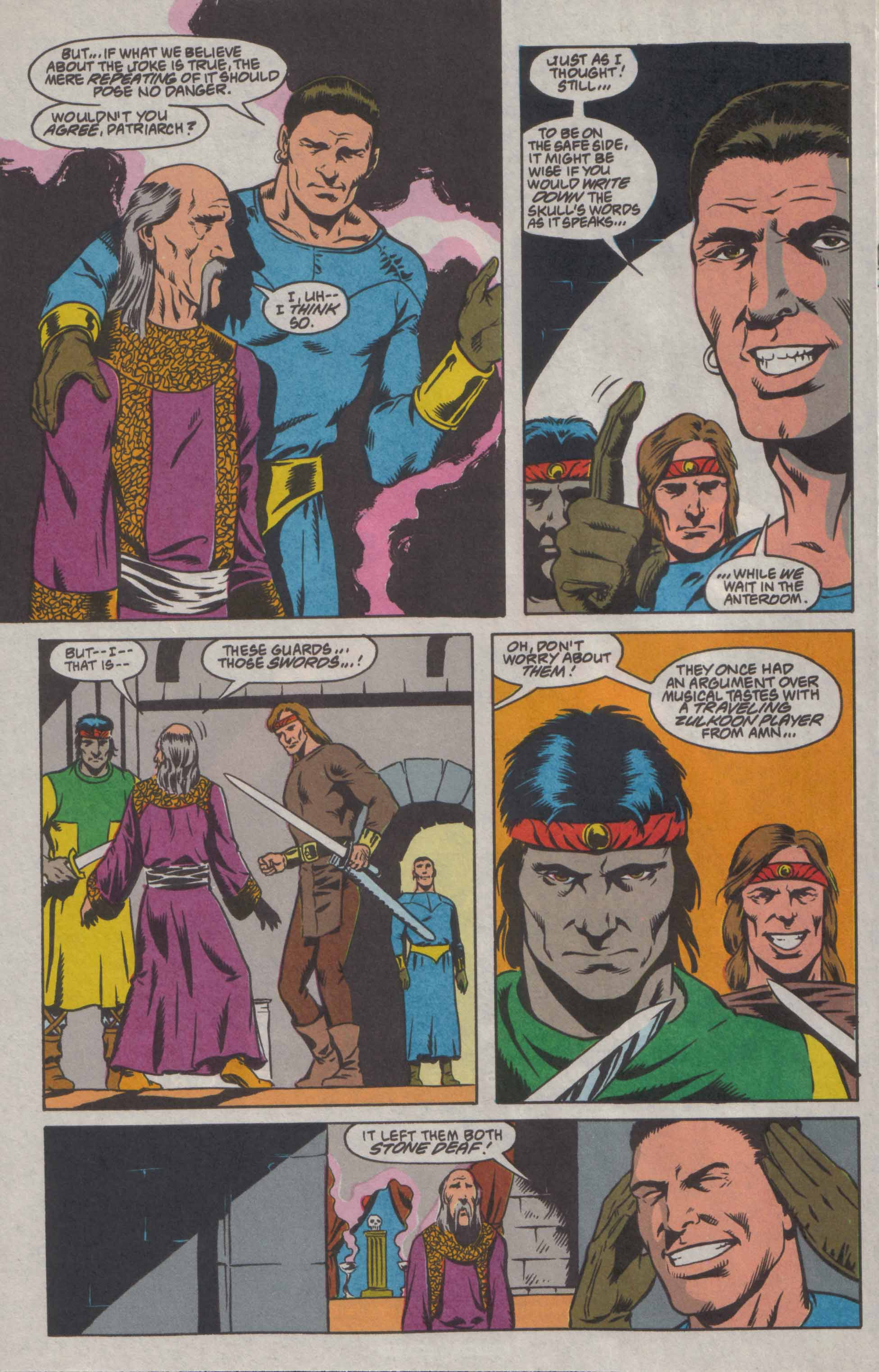 Read online Advanced Dungeons & Dragons comic -  Issue #8 - 10