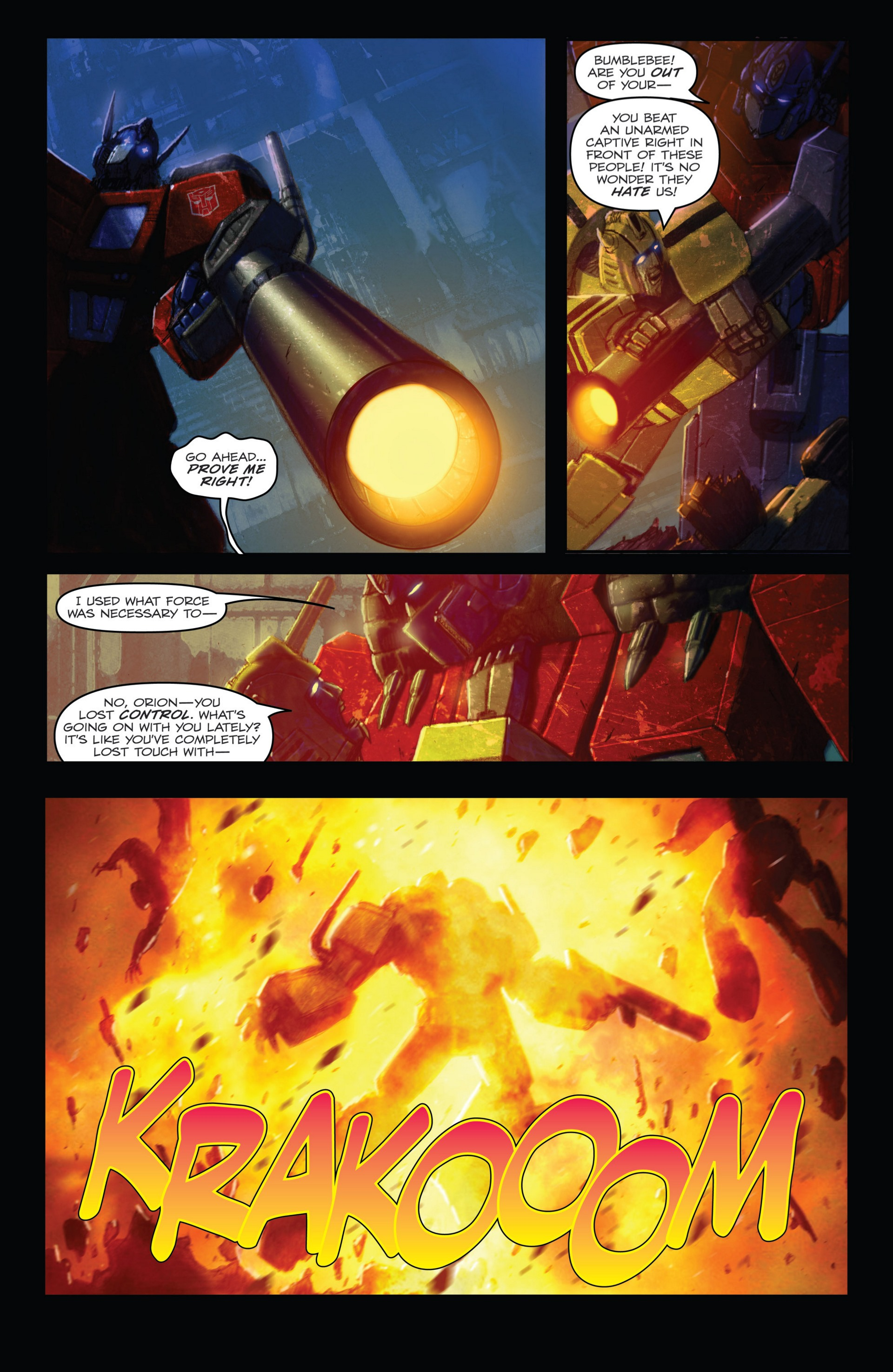 Read online Transformers: Autocracy comic -  Issue # Full - 14