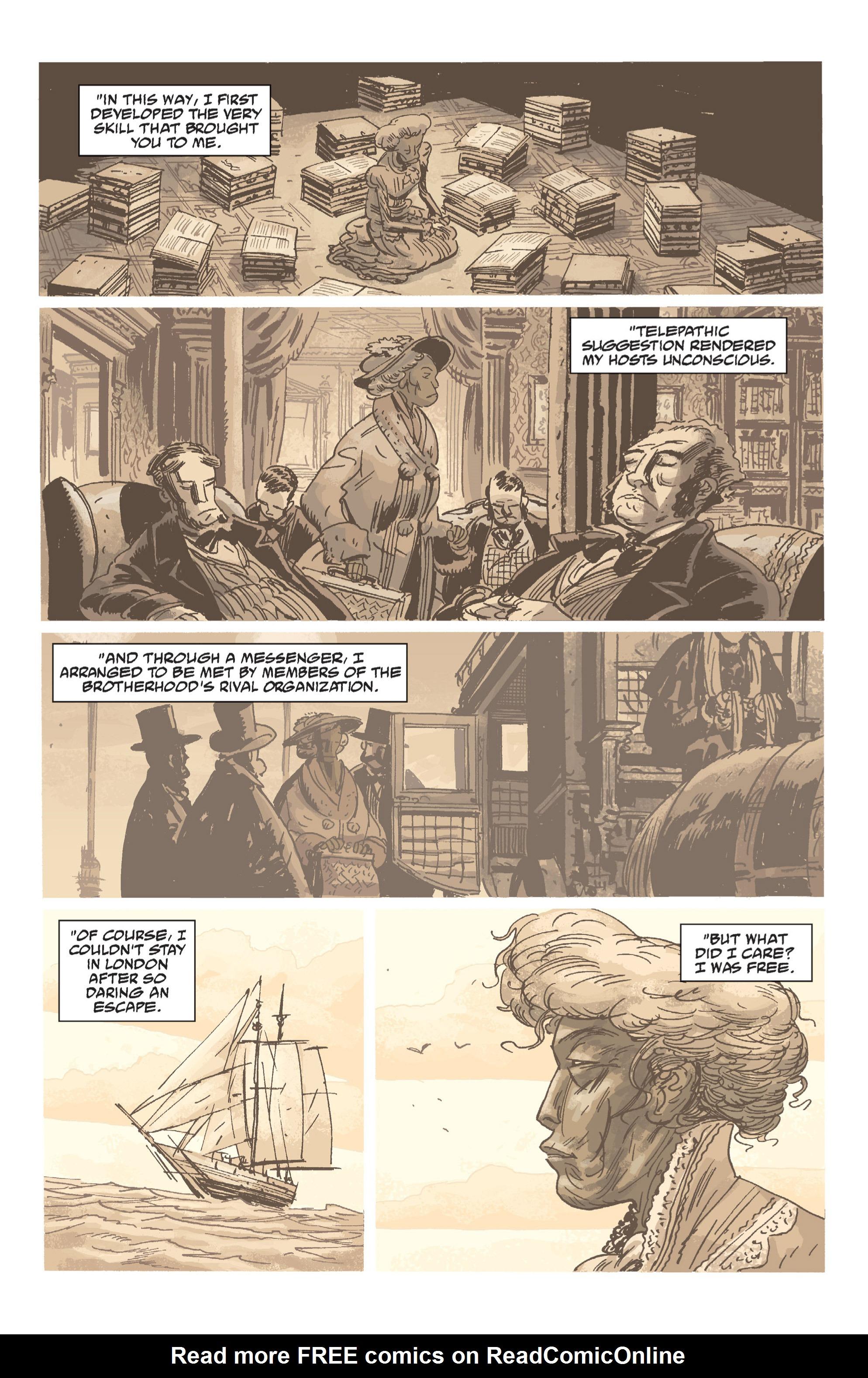 Read online B.P.R.D. (2003) comic -  Issue # TPB 7 - 91