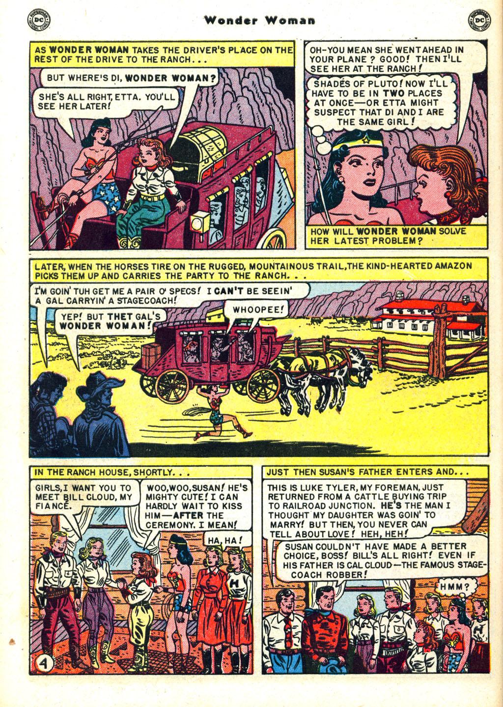 Read online Wonder Woman (1942) comic -  Issue #45 - 42