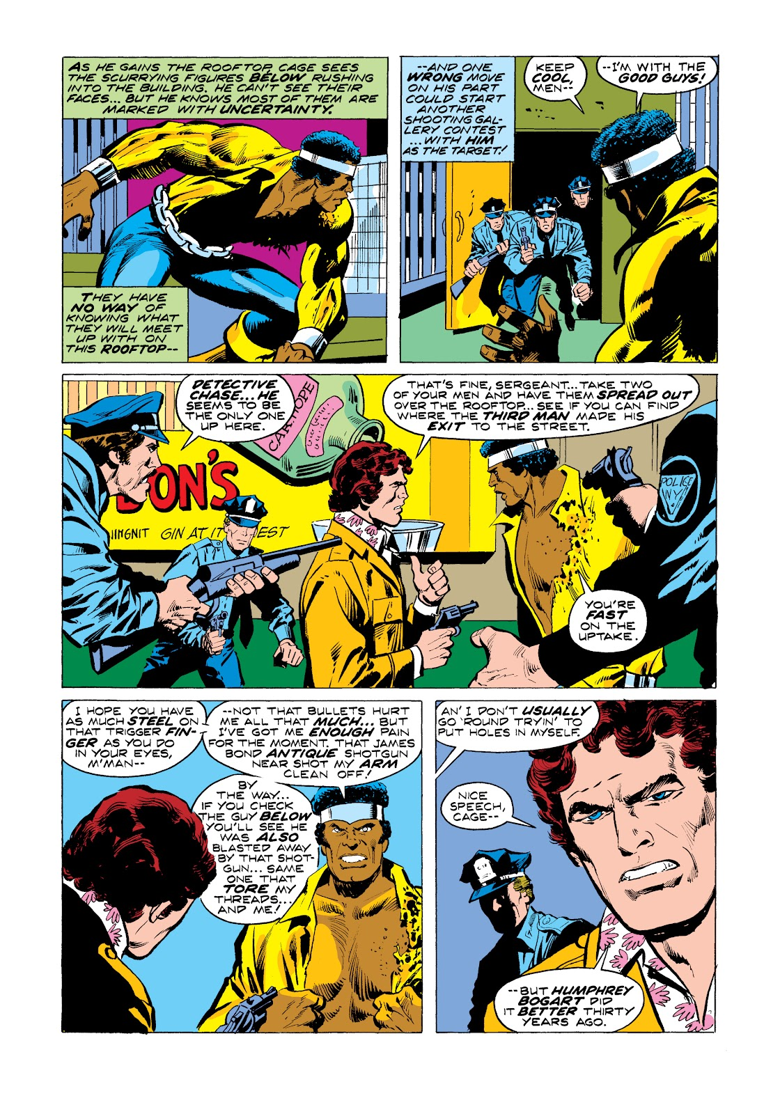 Read online Marvel Masterworks: Luke Cage, Power Man comic -  Issue # TPB 2 (Part 3) - 26