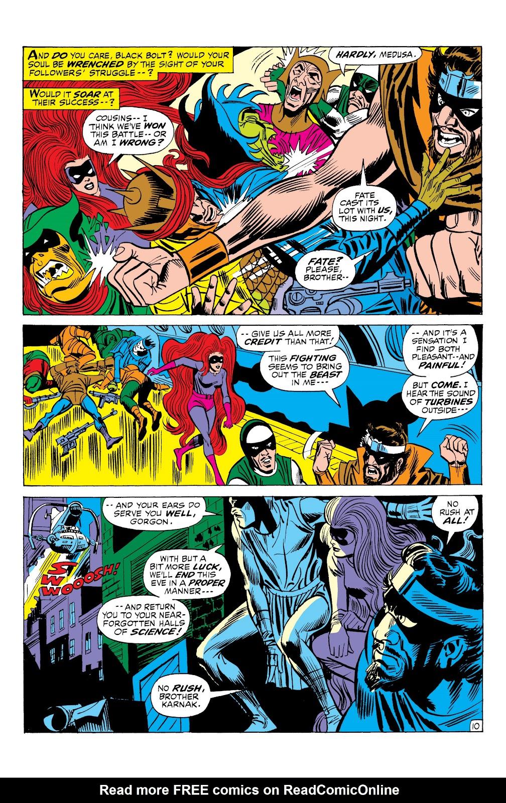 Read online Marvel Masterworks: The Inhumans comic -  Issue # TPB 1 (Part 2) - 88