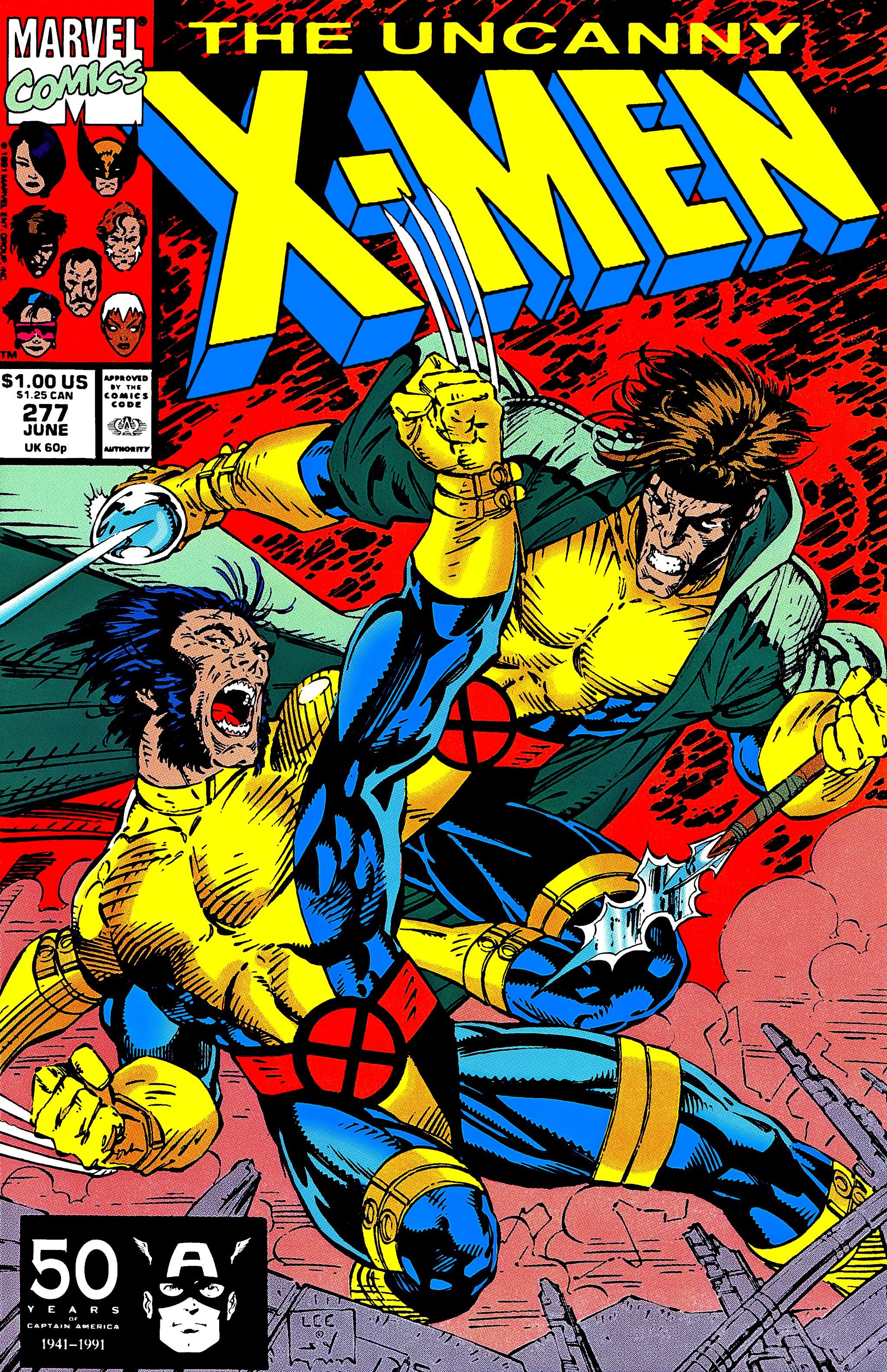 Read online Uncanny X-Men (1963) comic -  Issue #277 - 1