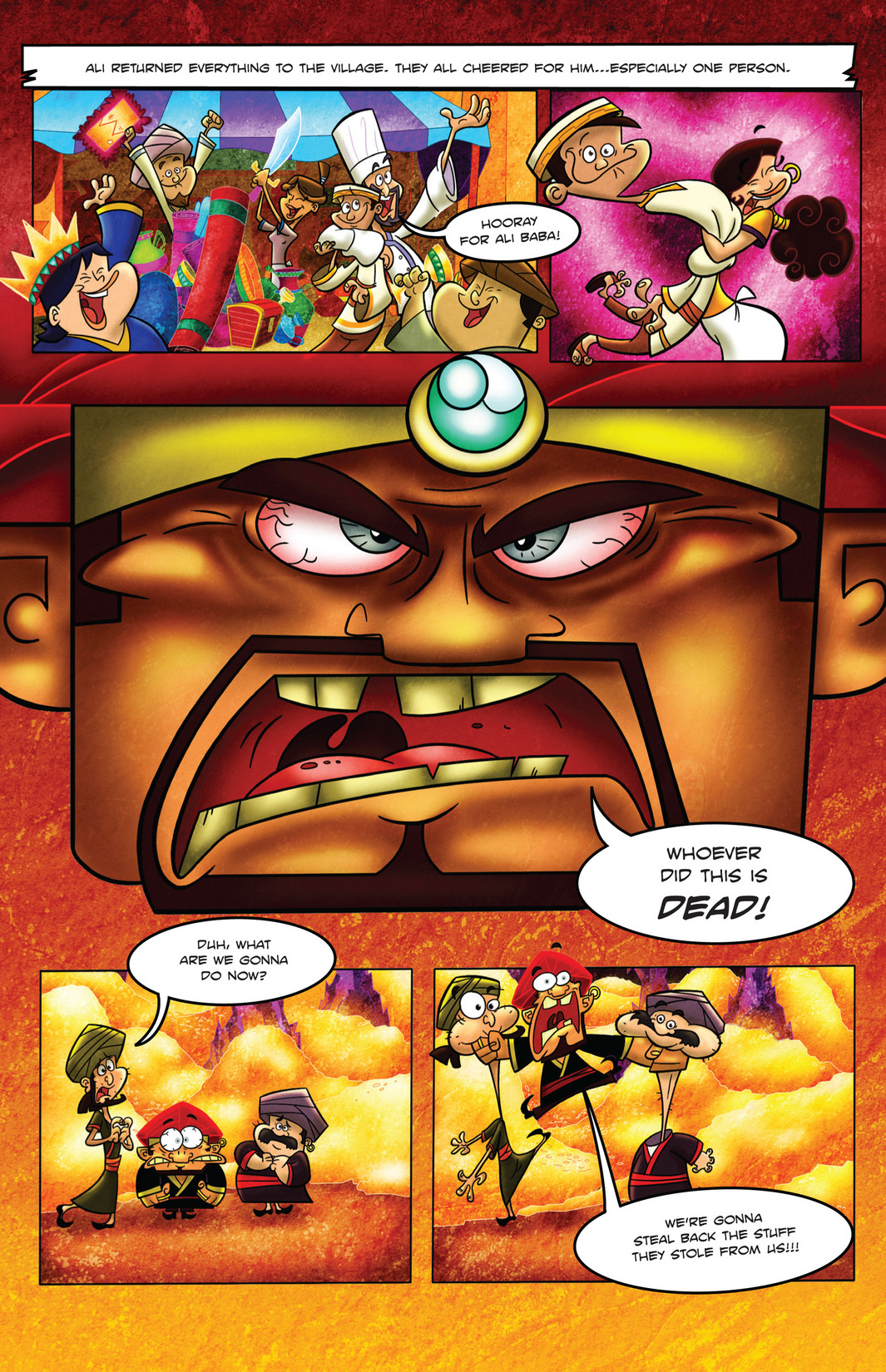 Read online 1001 Nights comic -  Issue #4 - 12