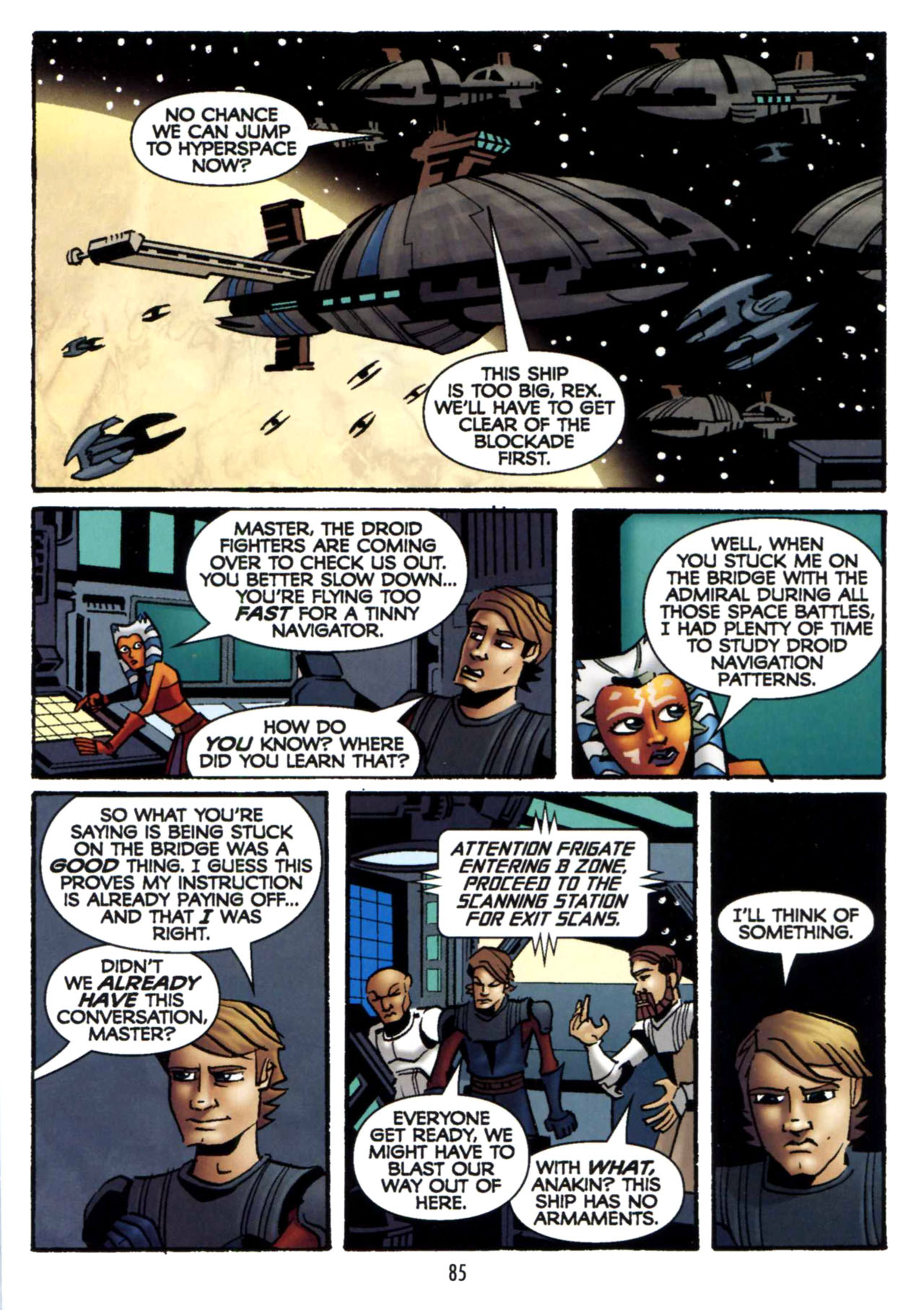 Read online Star Wars: The Clone Wars - Shipyards of Doom comic -  Issue # Full - 83