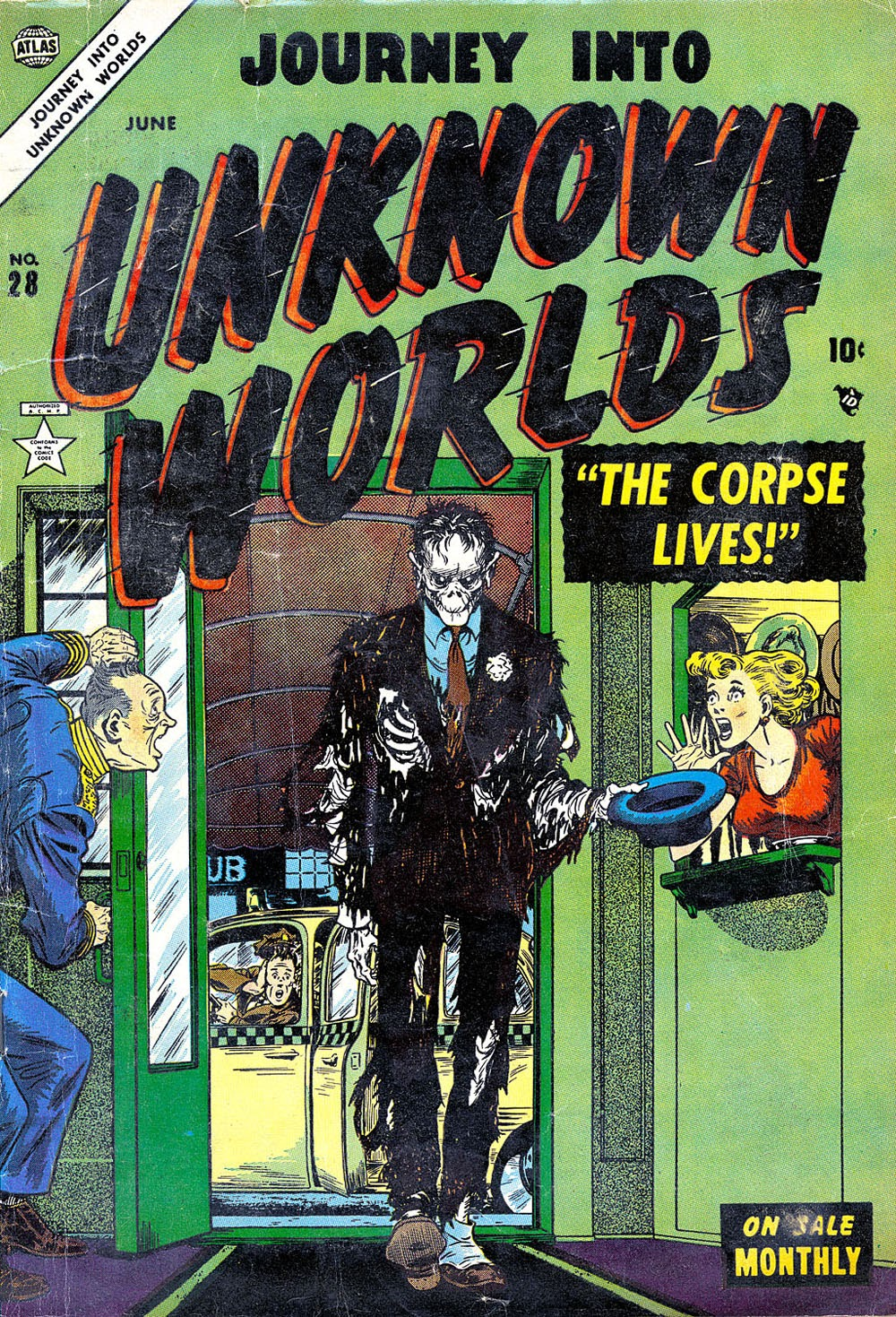 Journey Into Unknown Worlds (1950) issue 28 - Page 1