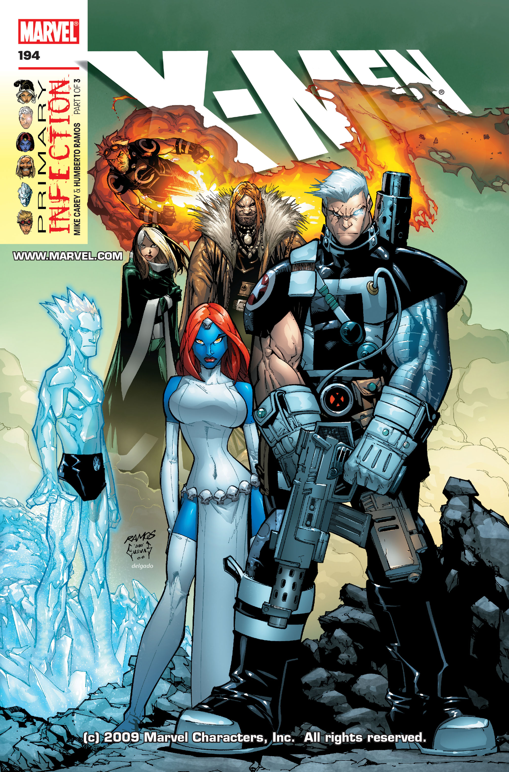 X-Men (1991) 194 Page 0