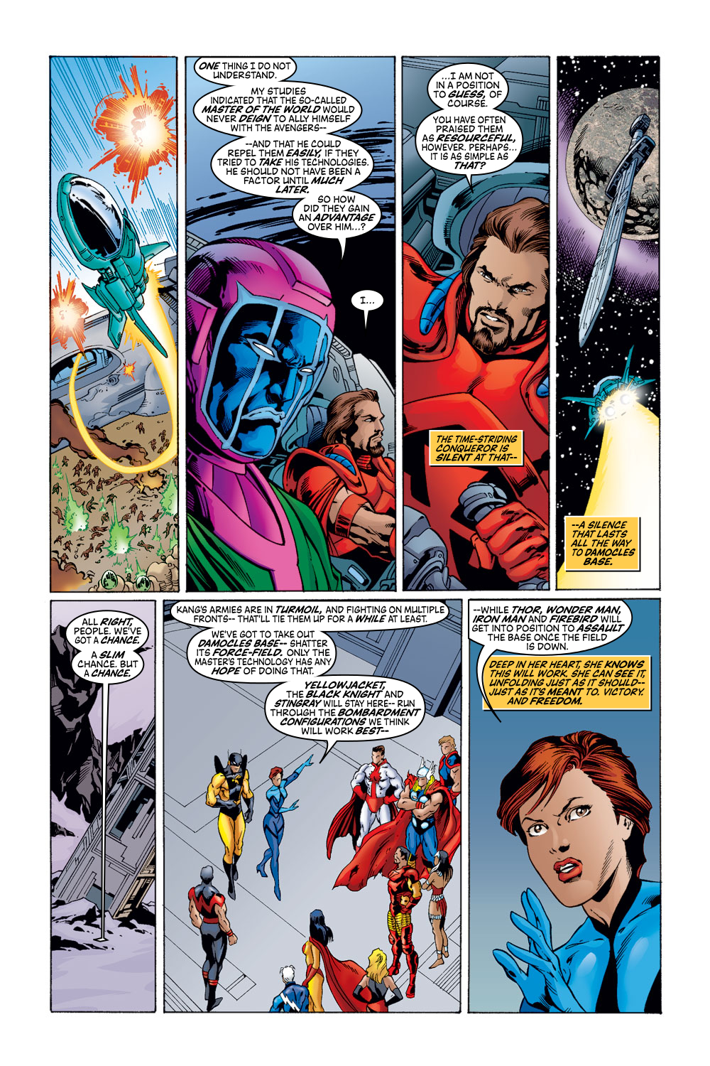 Read online Avengers (1998) comic -  Issue #52 - 15