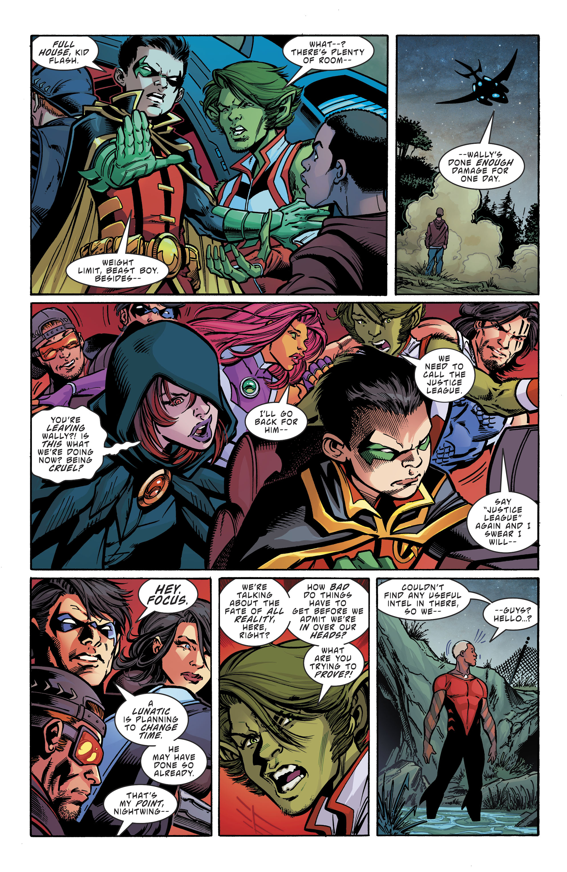 Read online Teen Titans (2016) comic -  Issue # Annual 1 - The Lazarus Contract Special 1 - 11