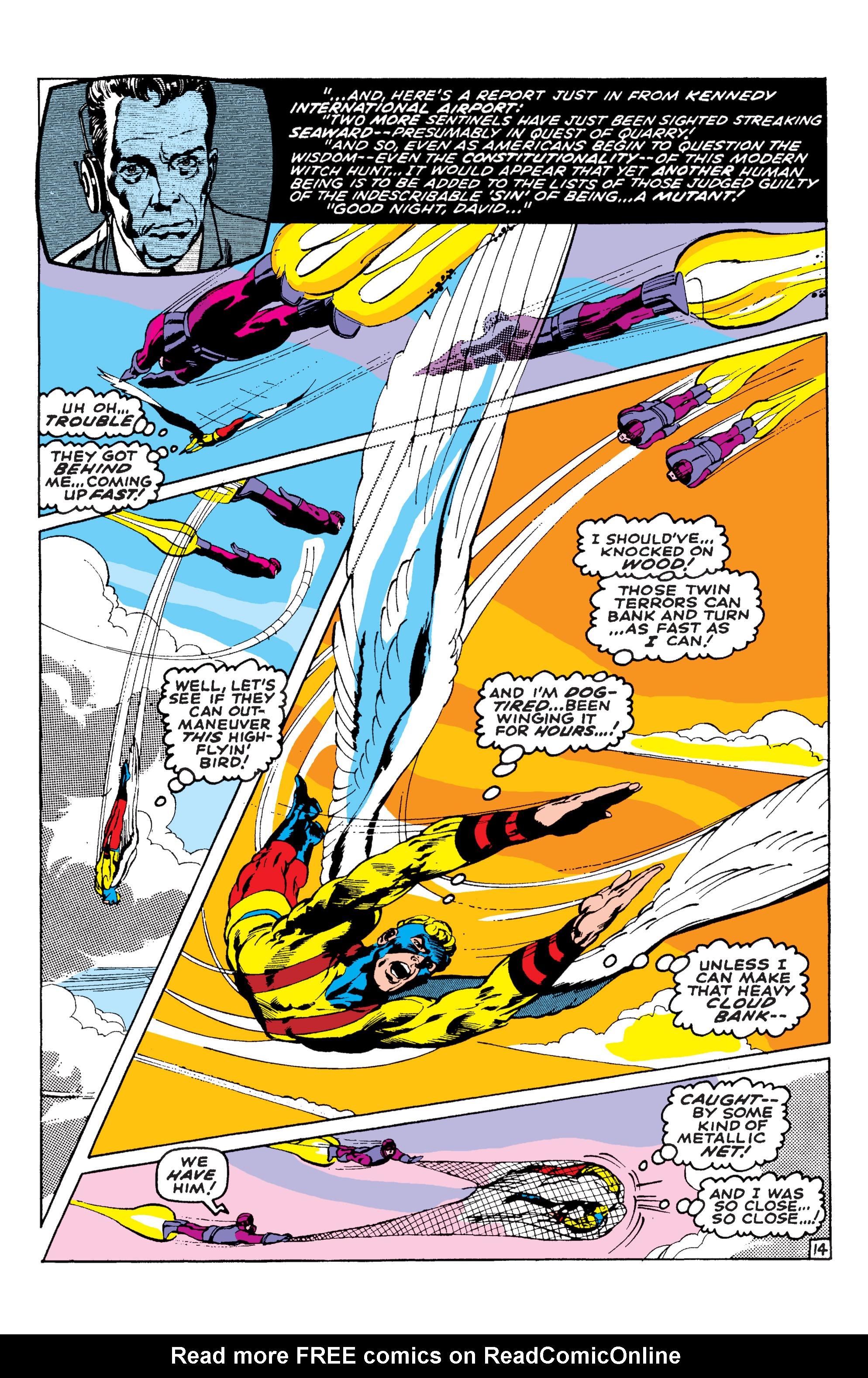 Read online Uncanny X-Men (1963) comic -  Issue #58 - 14