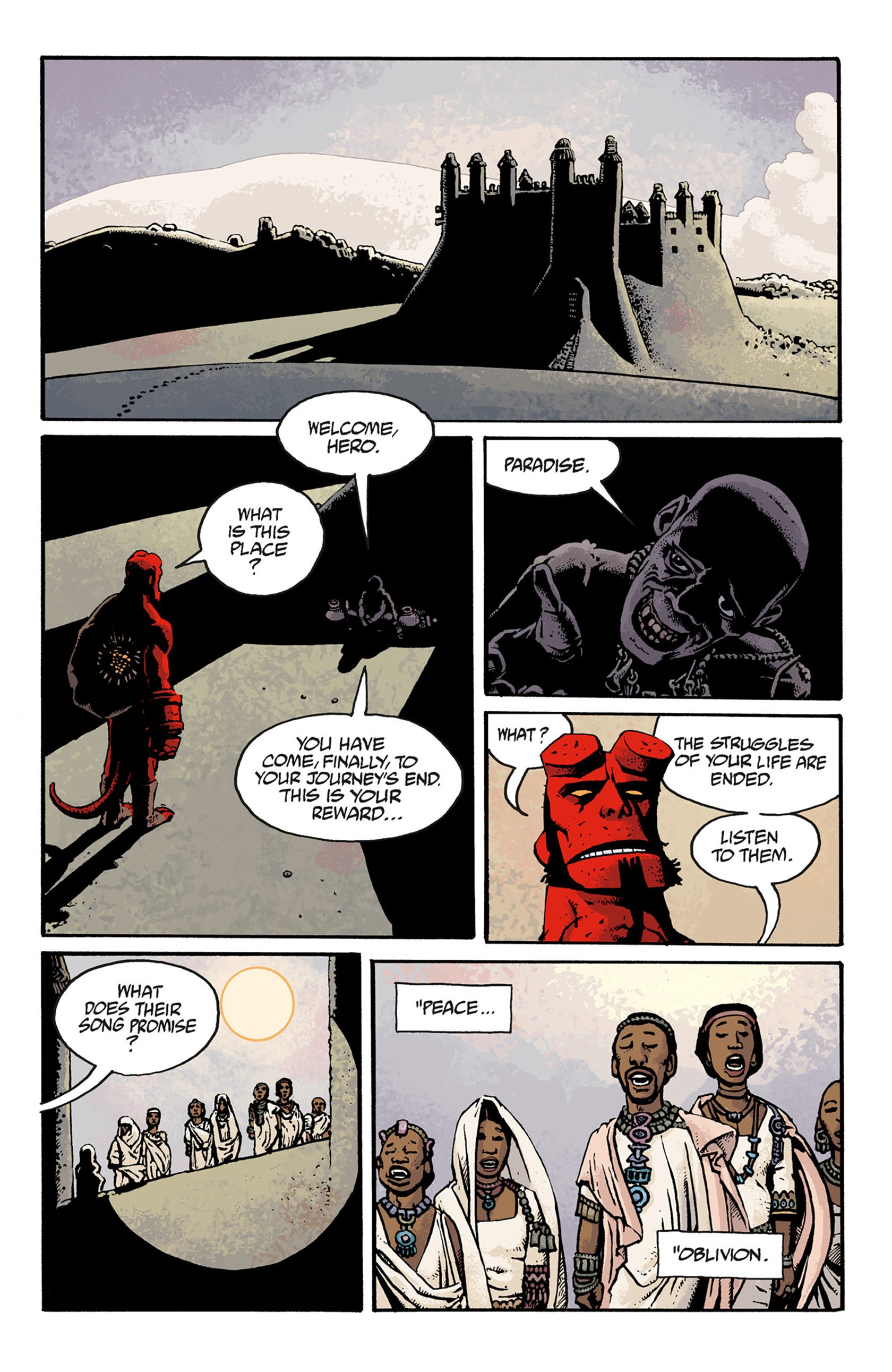 Read online Hellboy: The Troll Witch and Others comic -  Issue # TPB - 109