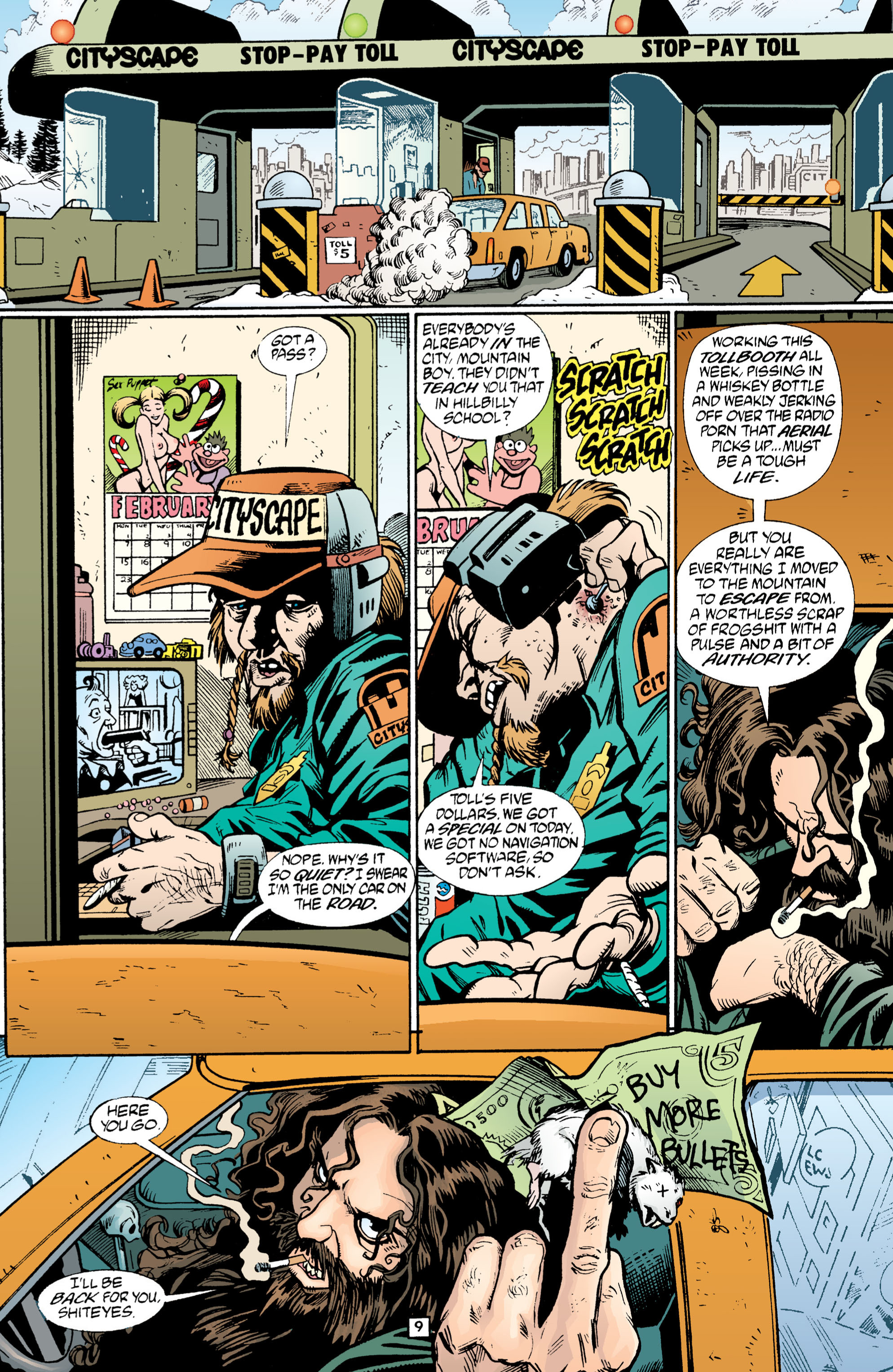 Read online Transmetropolitan comic -  Issue #1 - 10