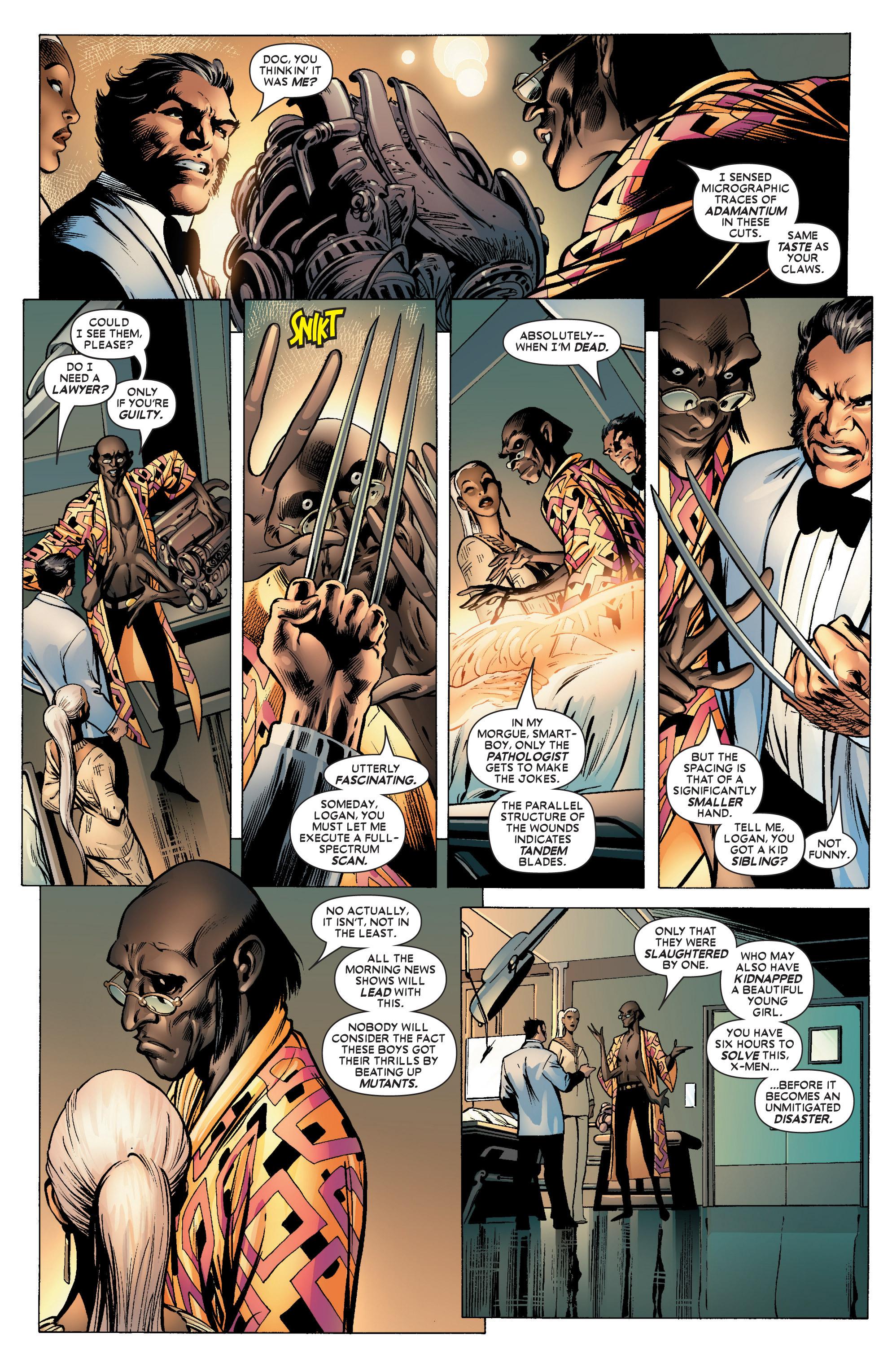 Read online Uncanny X-Men (1963) comic -  Issue #450 - 15