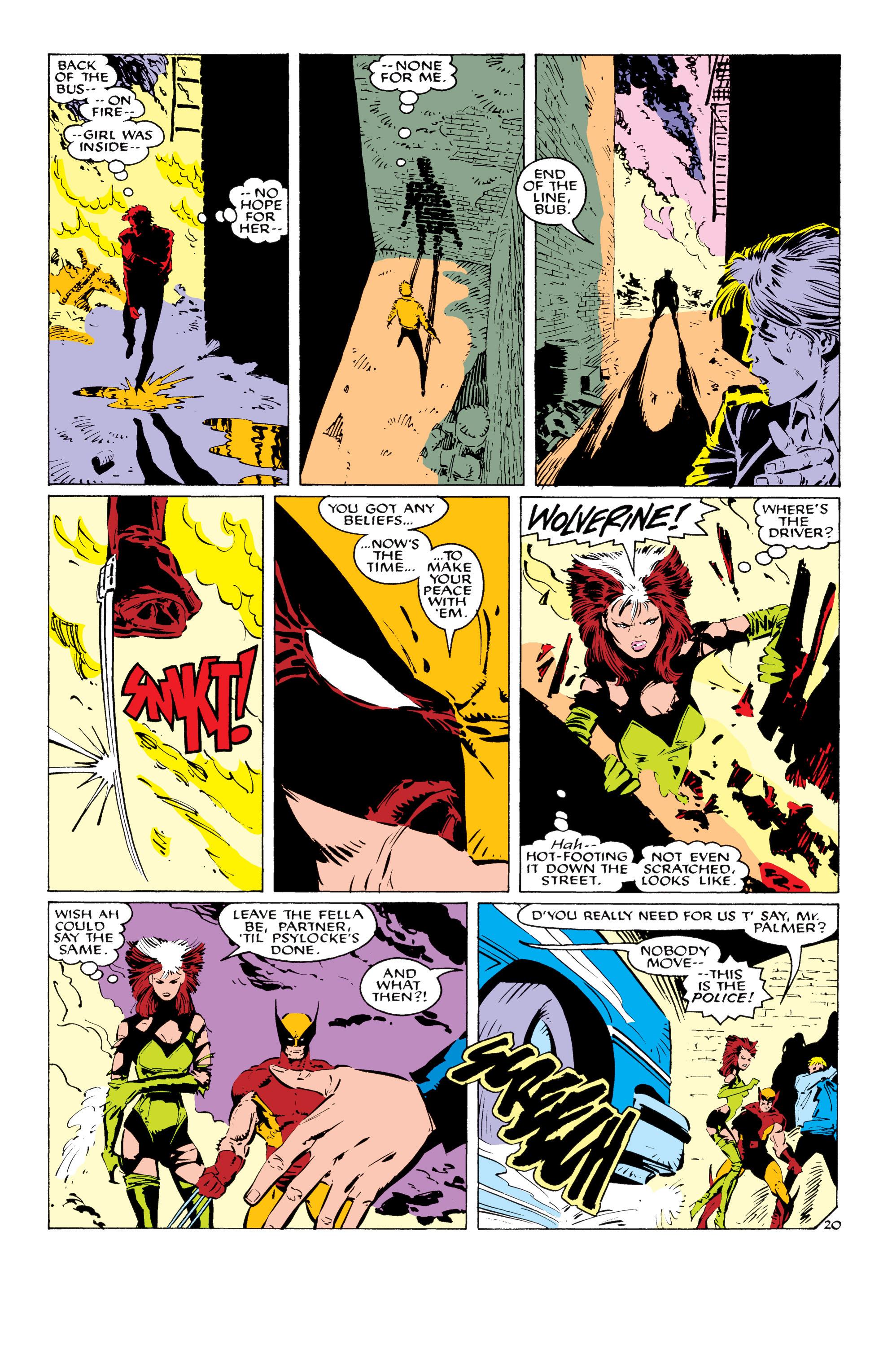 Read online Uncanny X-Men (1963) comic -  Issue #232 - 21