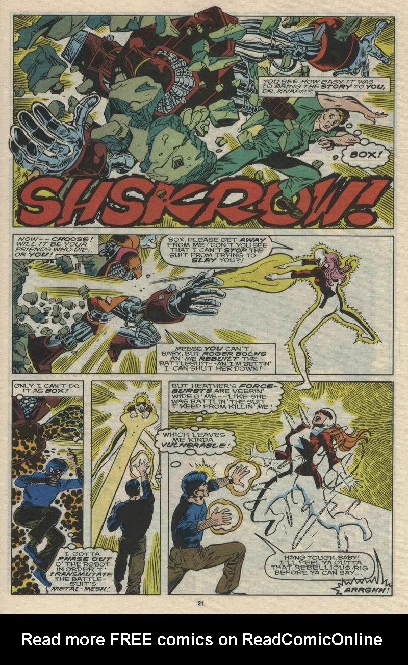 Read online Alpha Flight (1983) comic -  Issue #66 - 22