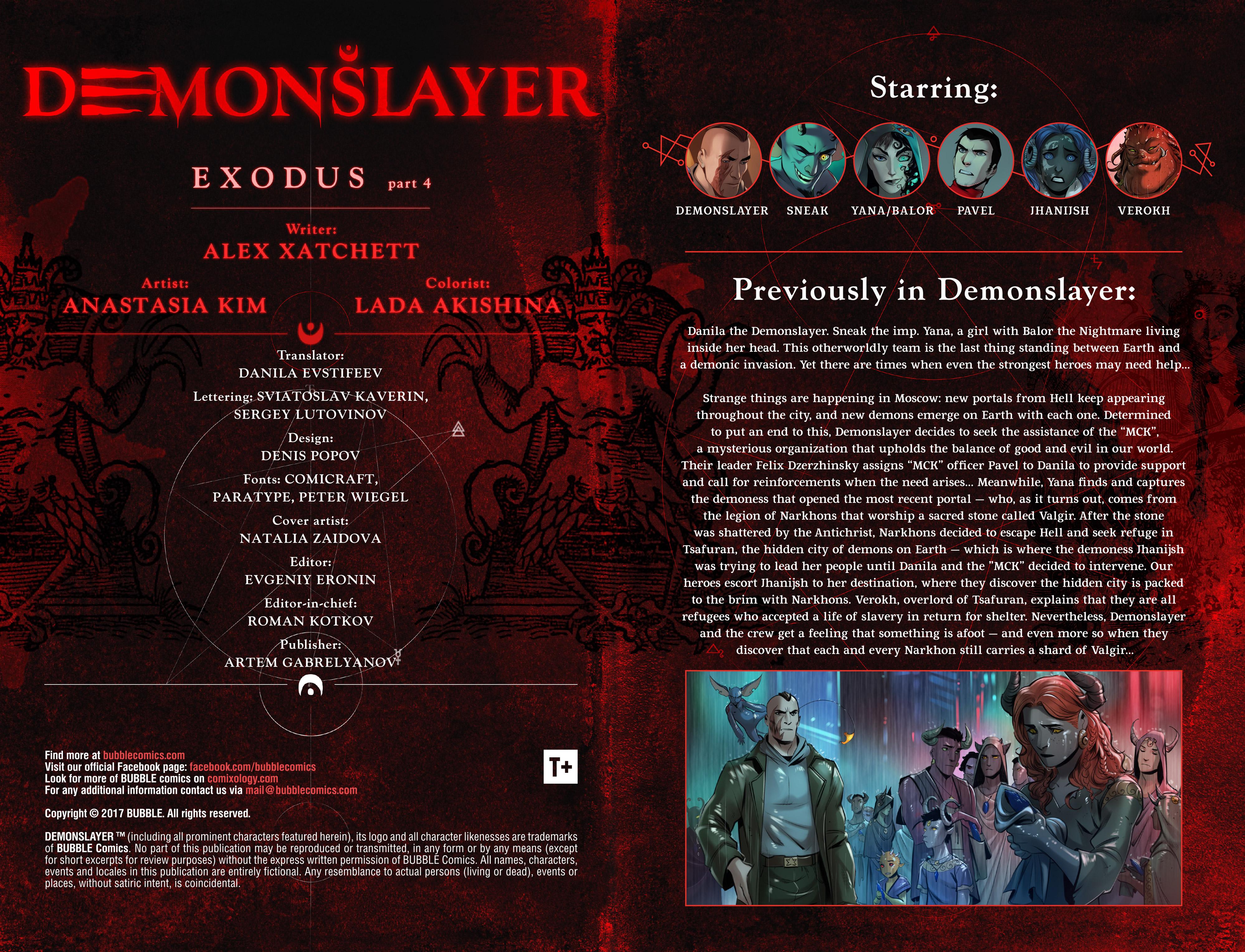 Read online Demonslayer, Vol. 2 comic -  Issue #4 - 2