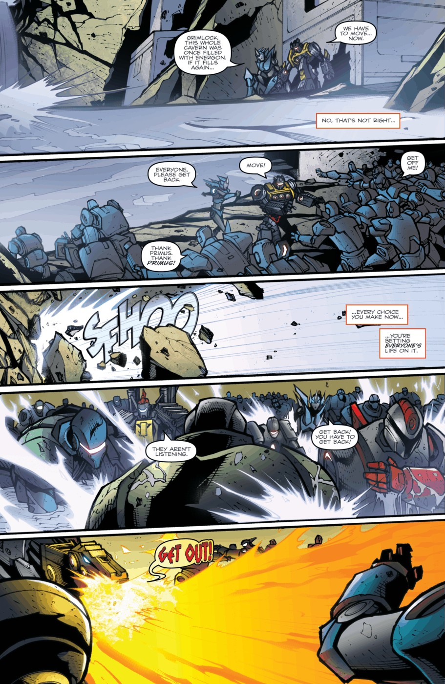 Read online Transformers Prime: Beast Hunters comic -  Issue #5 - 20