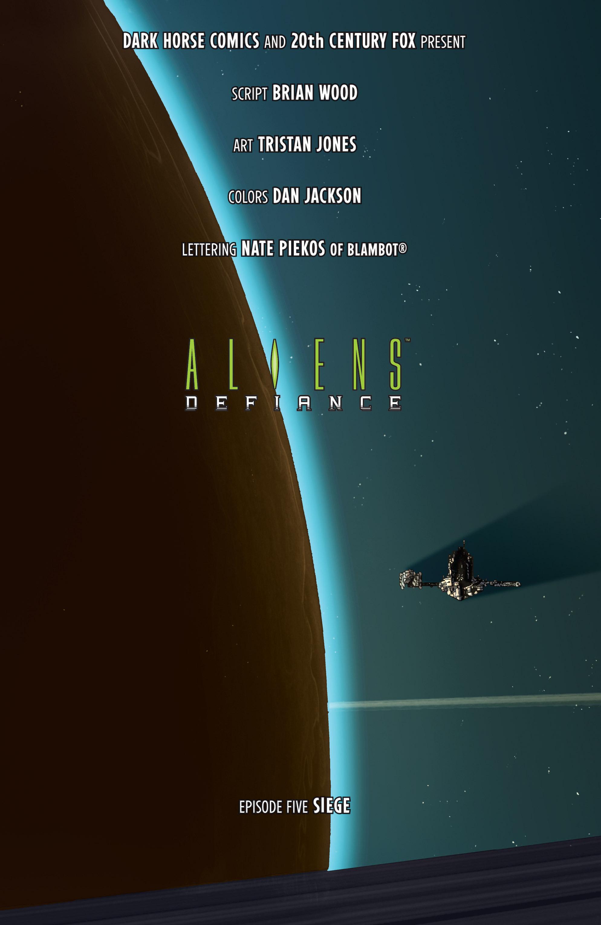 Read online Aliens: Defiance comic -  Issue #5 - 7