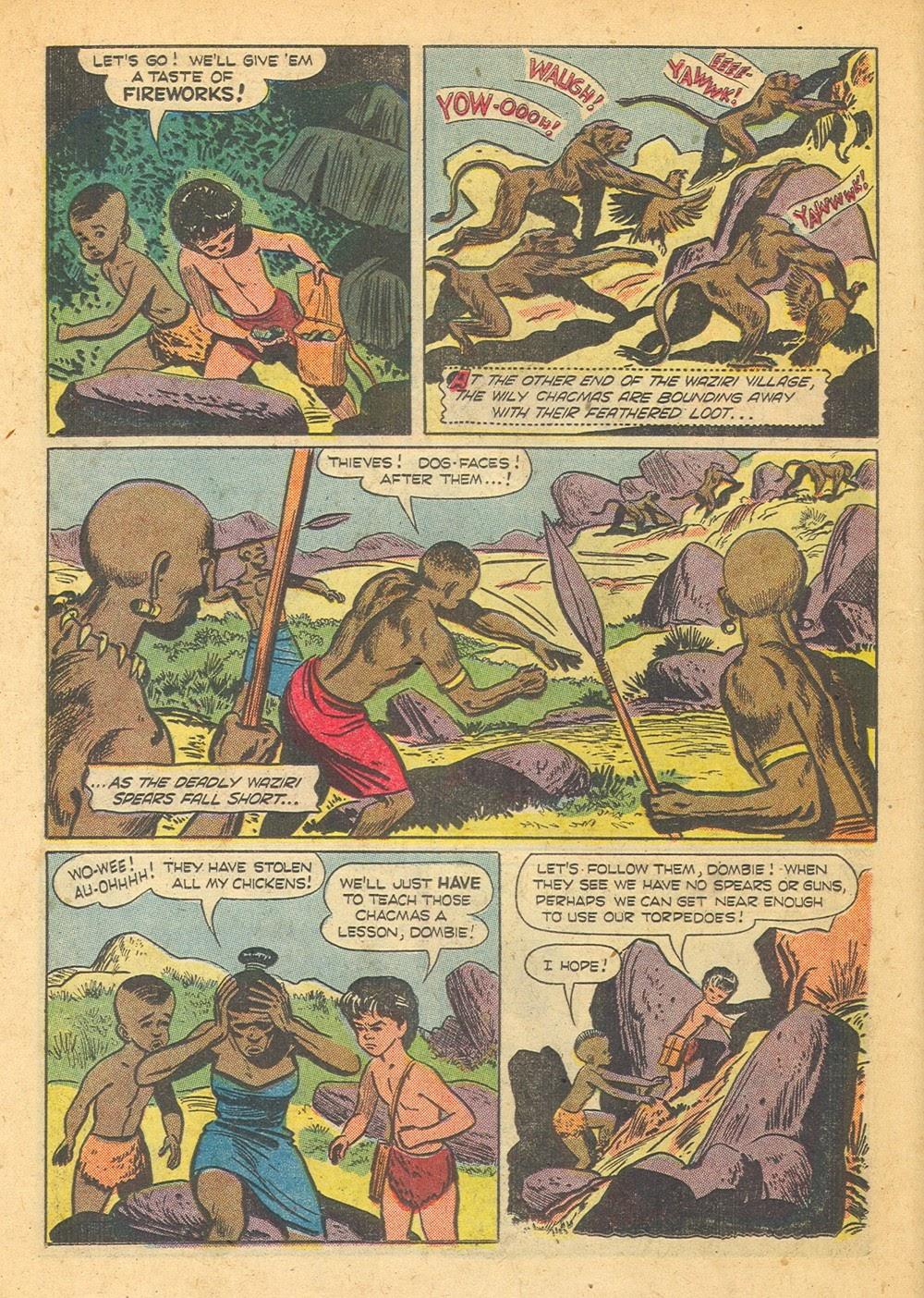 Tarzan (1948) issue 57 - Page 22