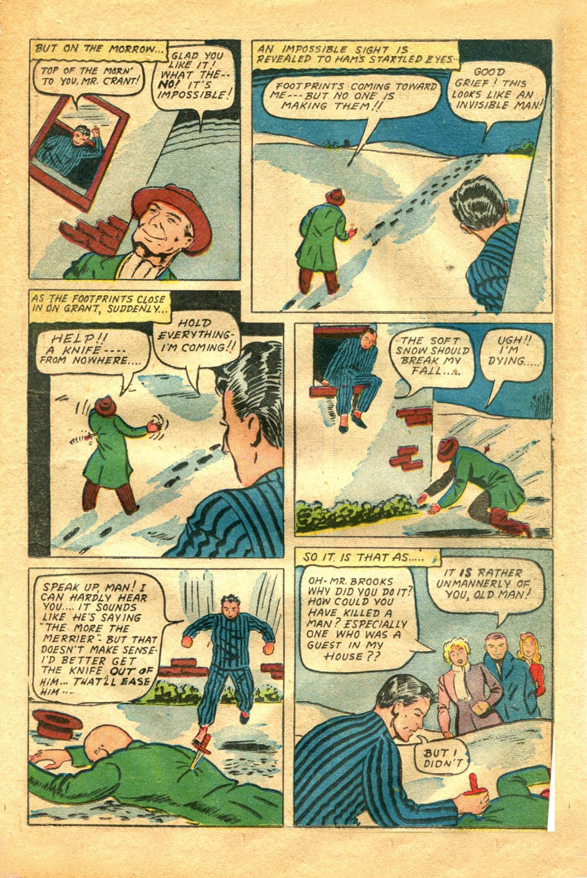 Read online Shadow Comics comic -  Issue #48 - 19