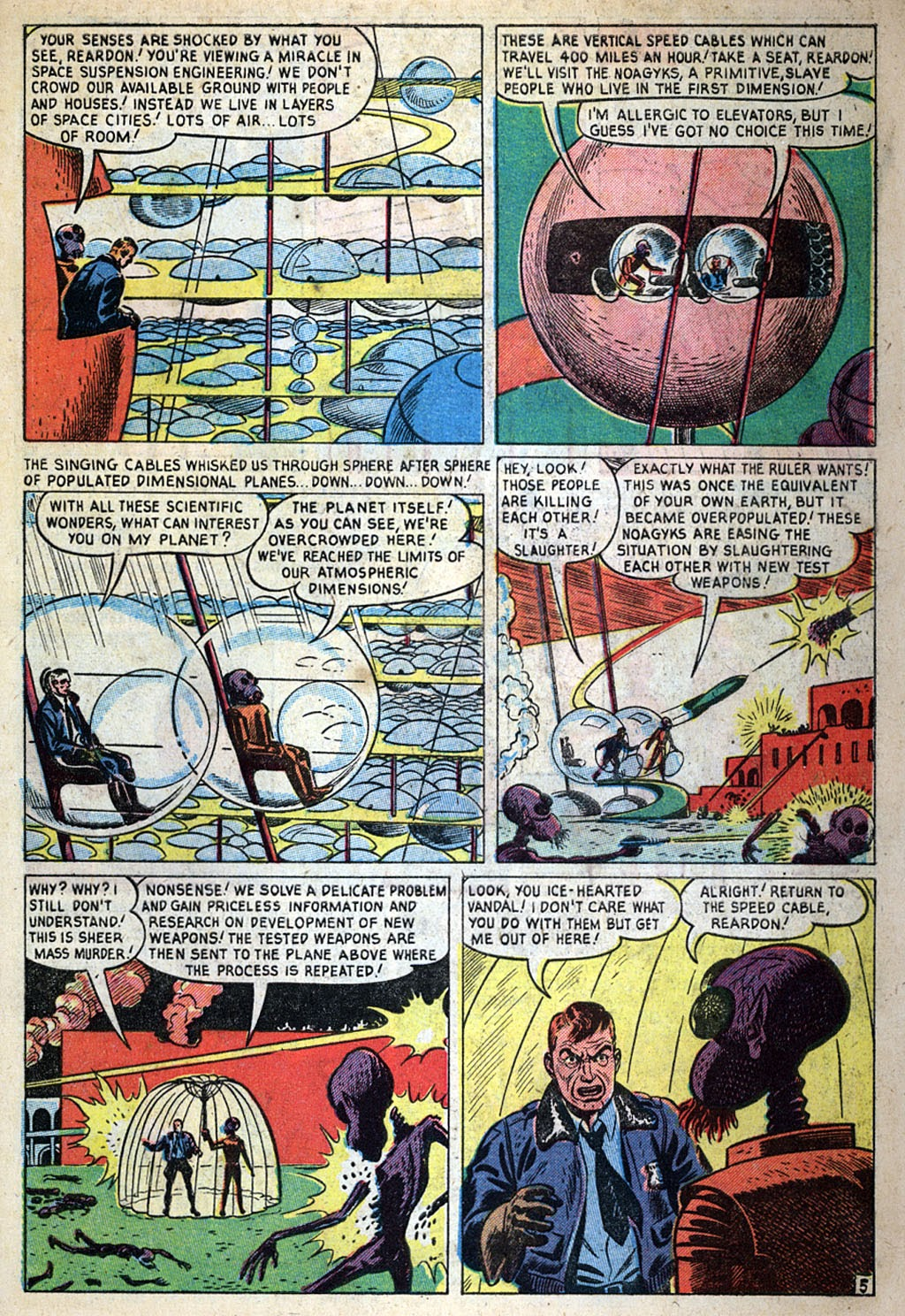 Journey Into Unknown Worlds (1950) issue 4 - Page 7
