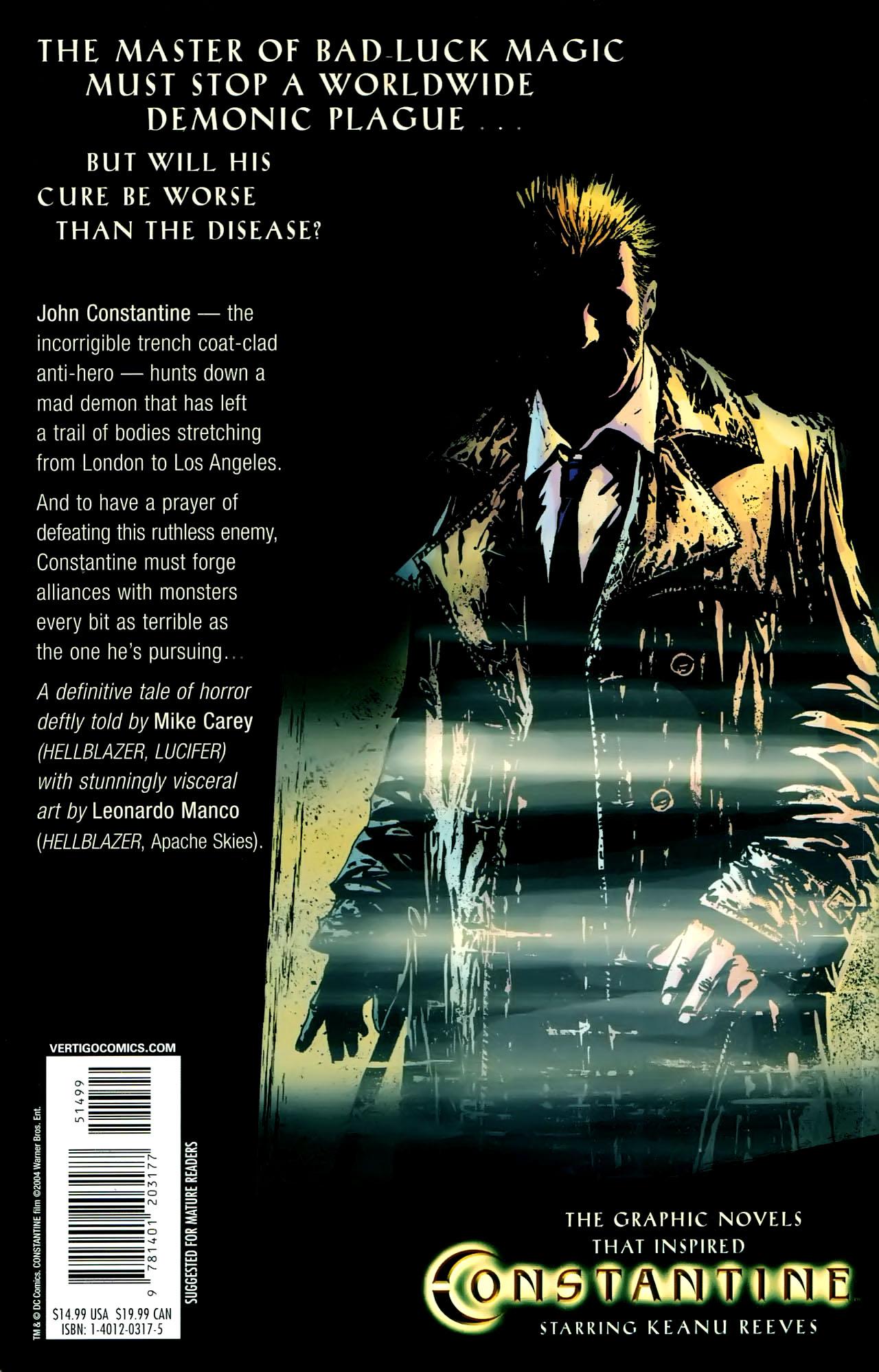 Read online John Constantine Hellblazer: All His Engines comic -  Issue # Full - 129