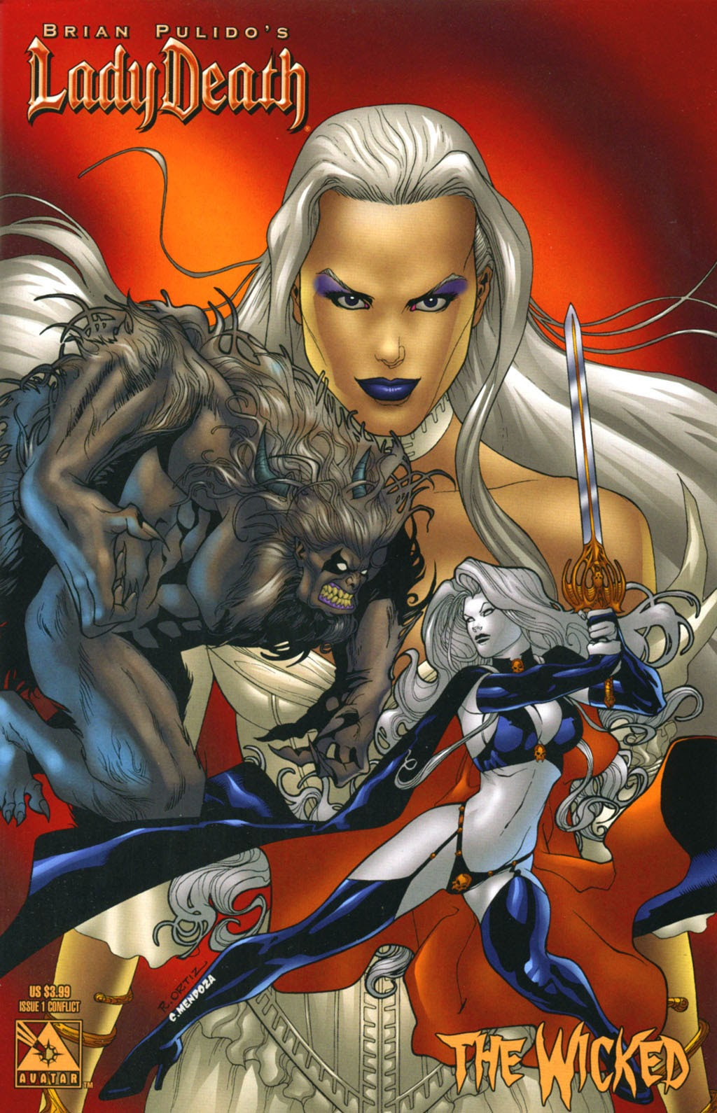 Read online Lady Death: The Wicked comic -  Issue #1 - 5